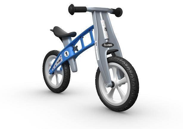 FirstBIKE Balance Bike Basic Light Blue2