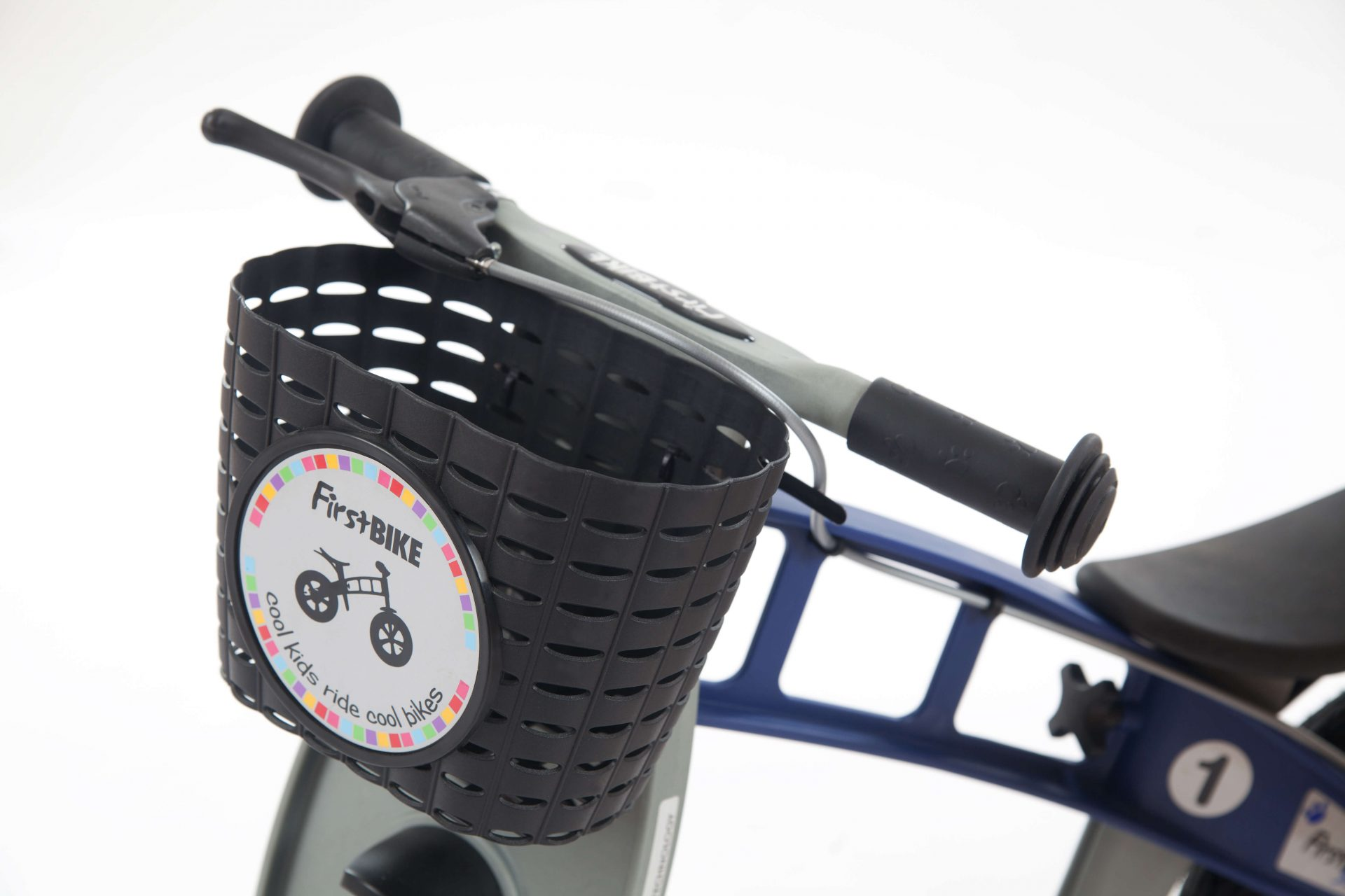 FirstBIKE Basket Black