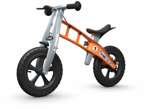 FirstBIKE Balance Bike Cross Orange5