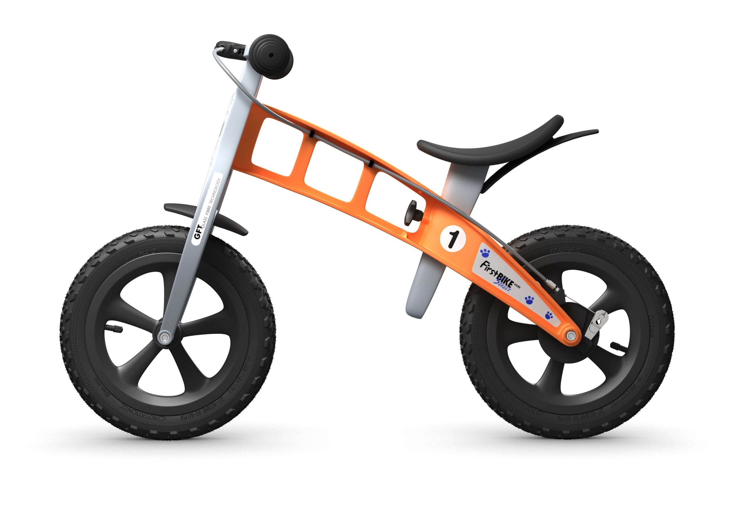 FirstBIKE Balance Bike Cross Orange4
