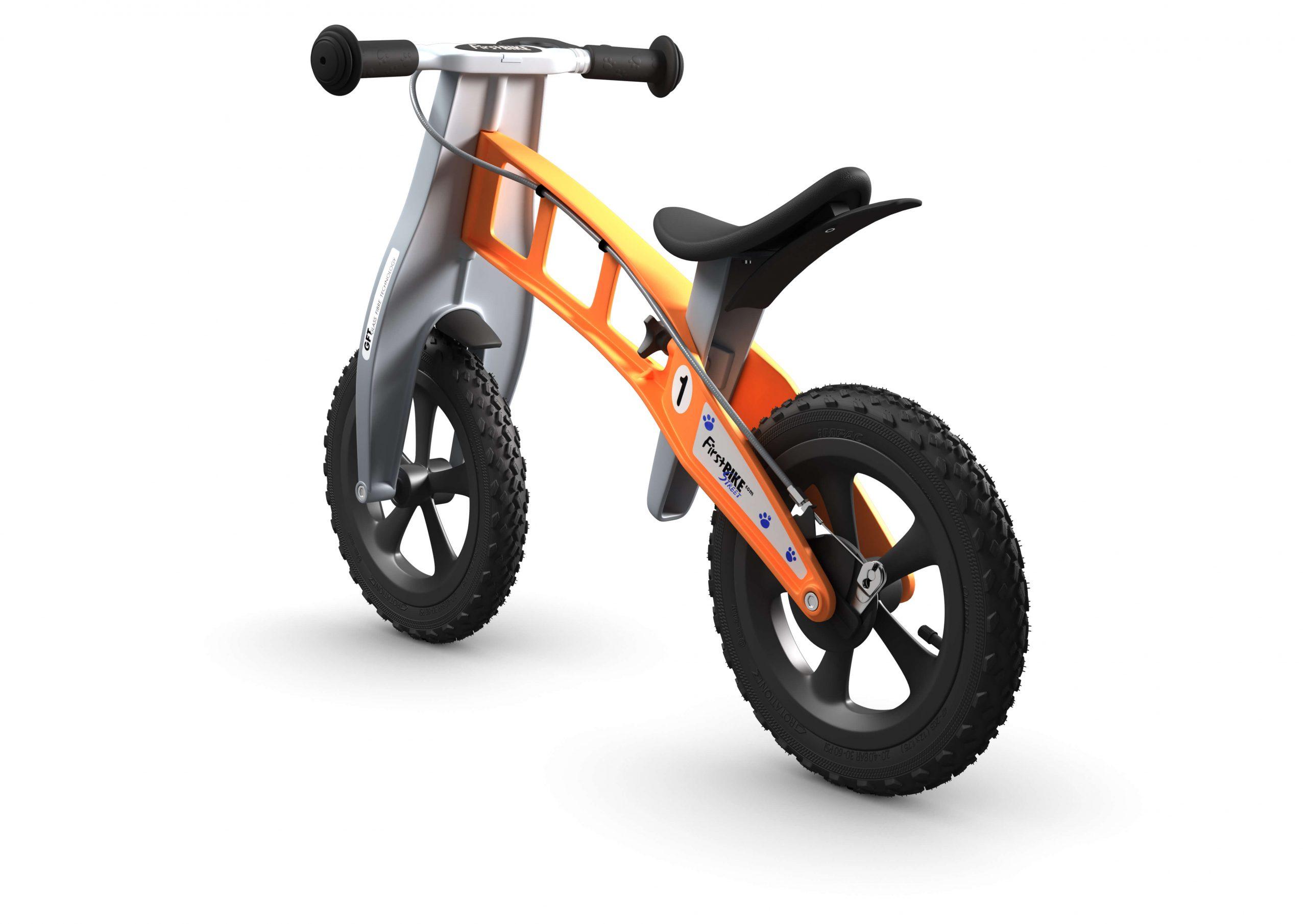 FirstBIKE Balance Bike Cross Orange3
