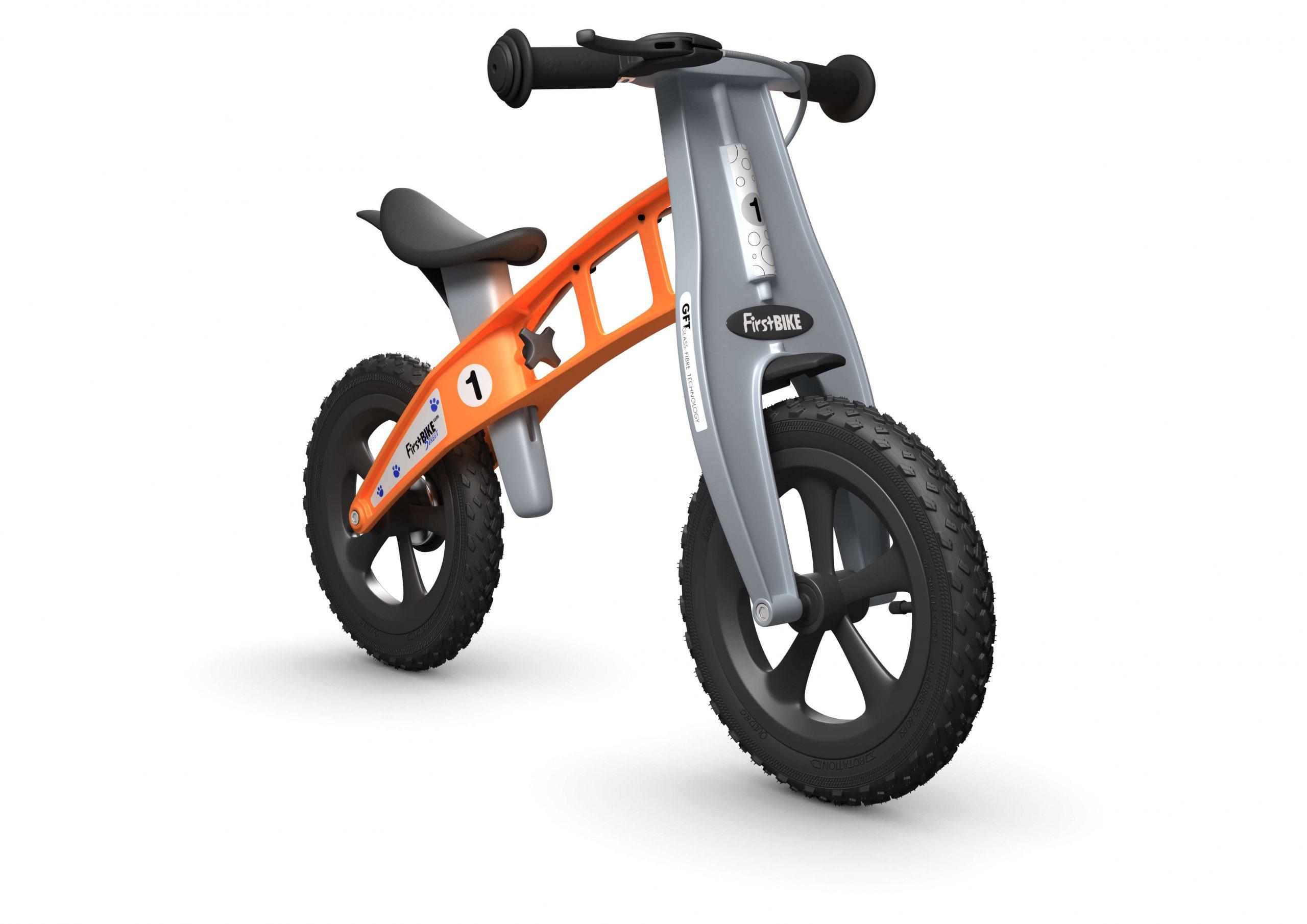FirstBIKE Balance Bike Cross Orange2