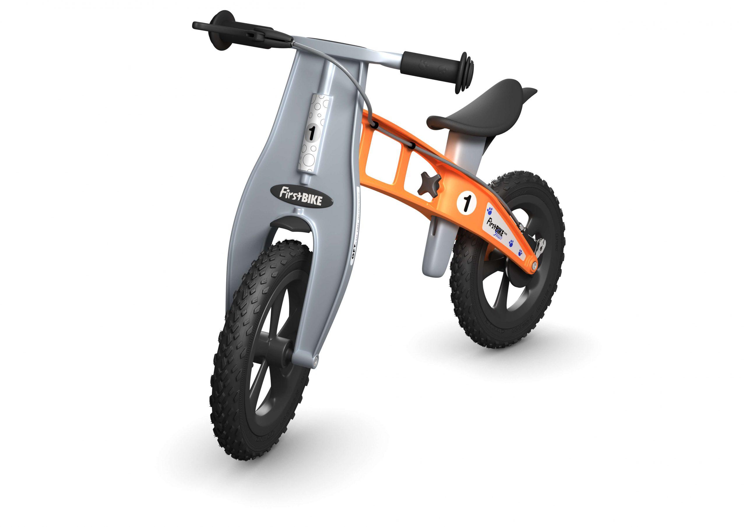 FirstBIKE Balance Bike Cross Orange1