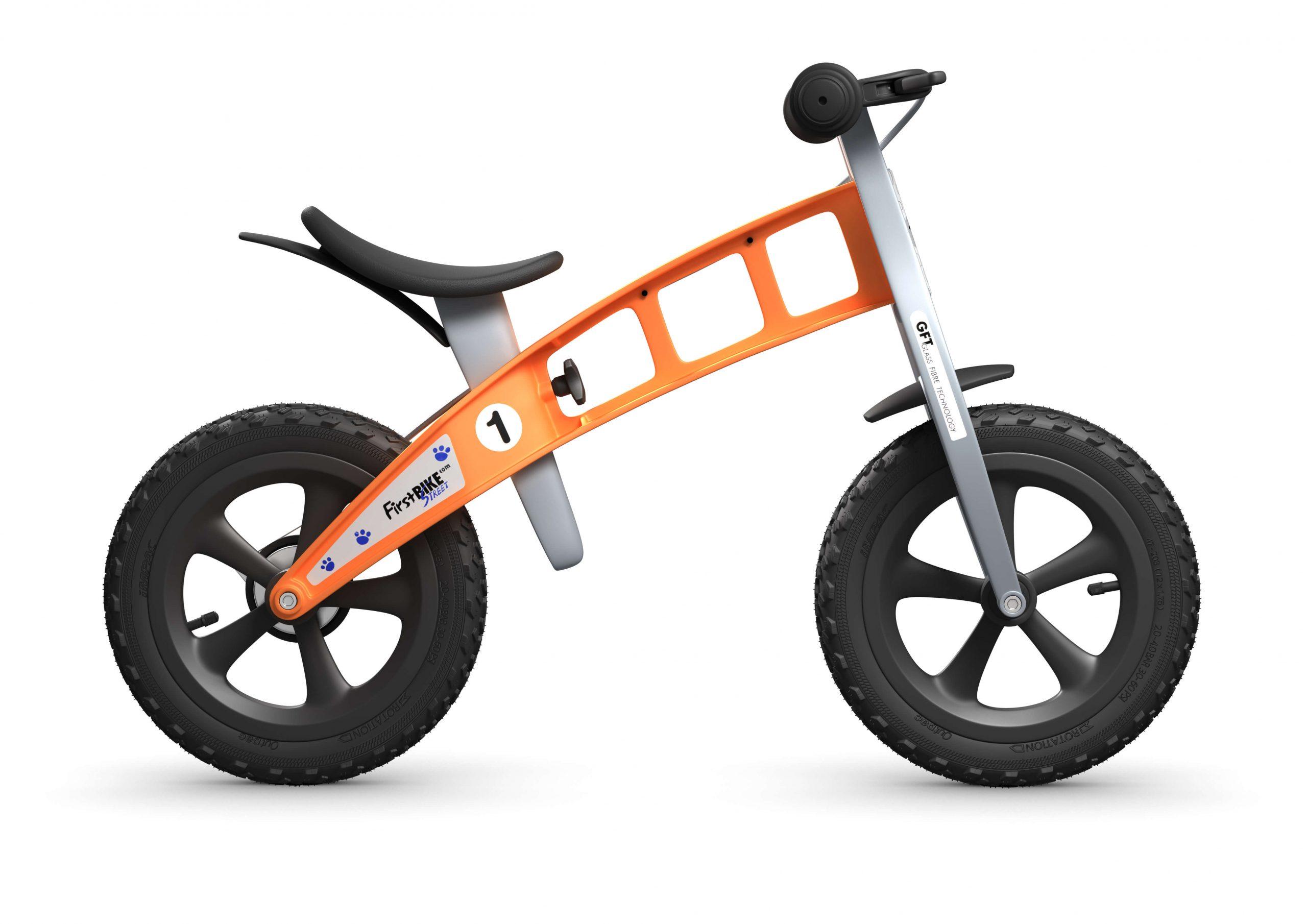 FirstBIKE Balance Bike Cross Orange