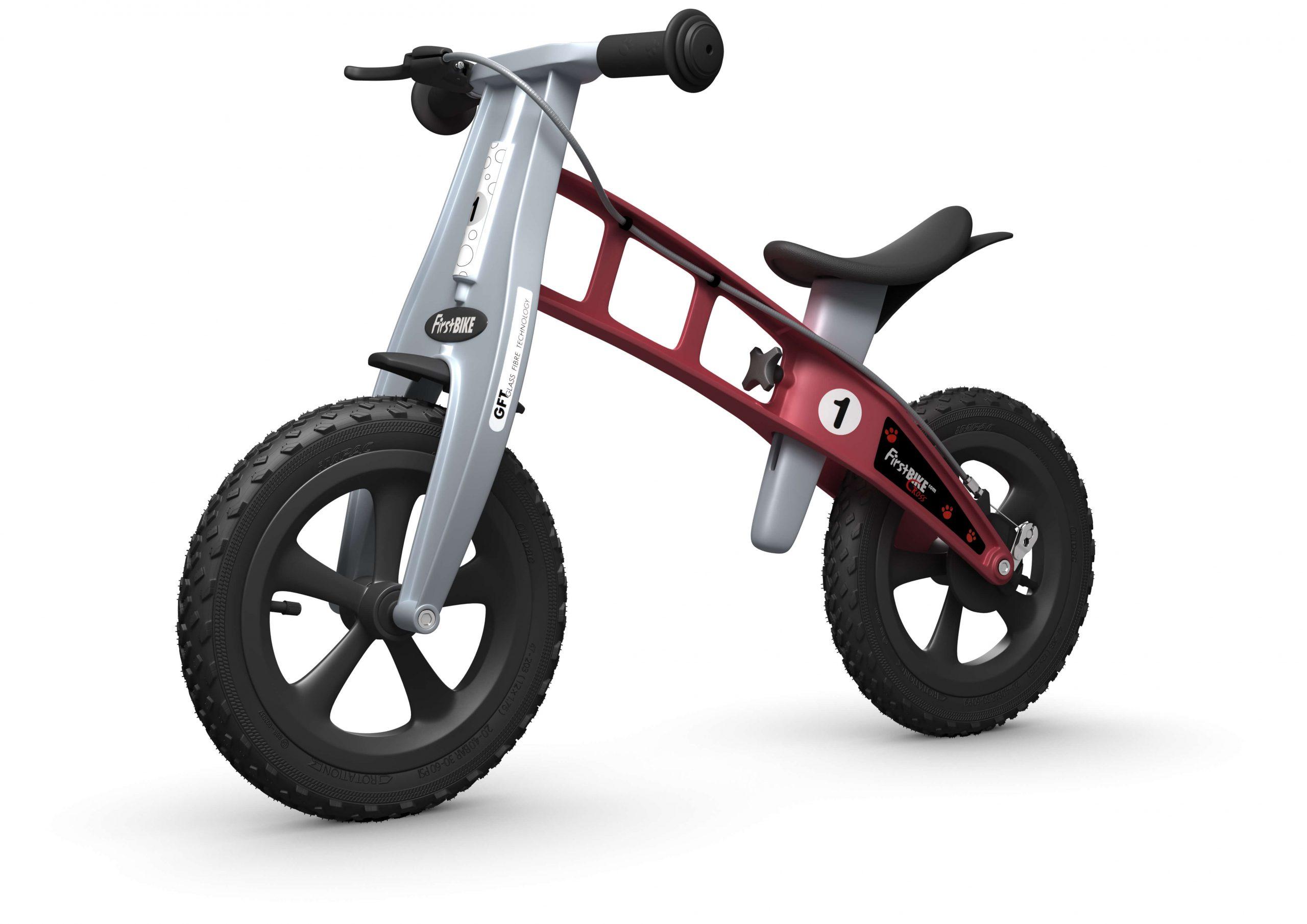 FirstBIKE Balance Bike Cross Red5