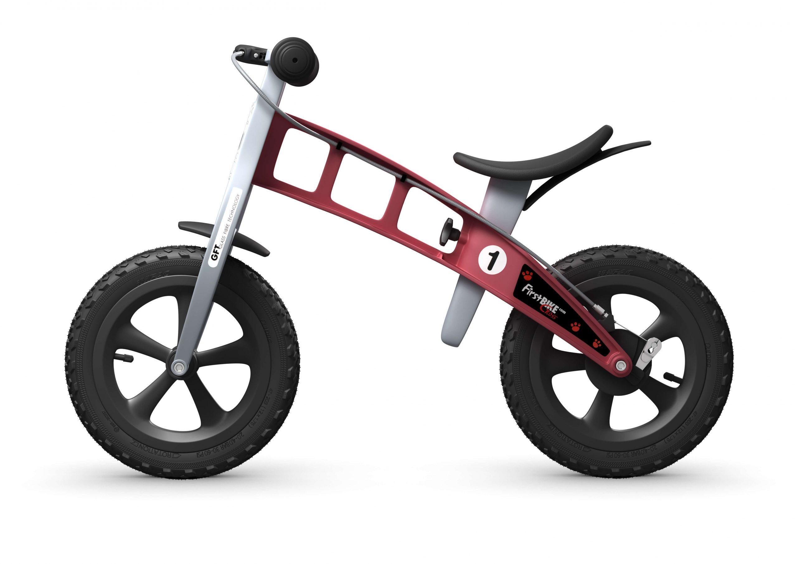 FirstBIKE Balance Bike Cross Red4