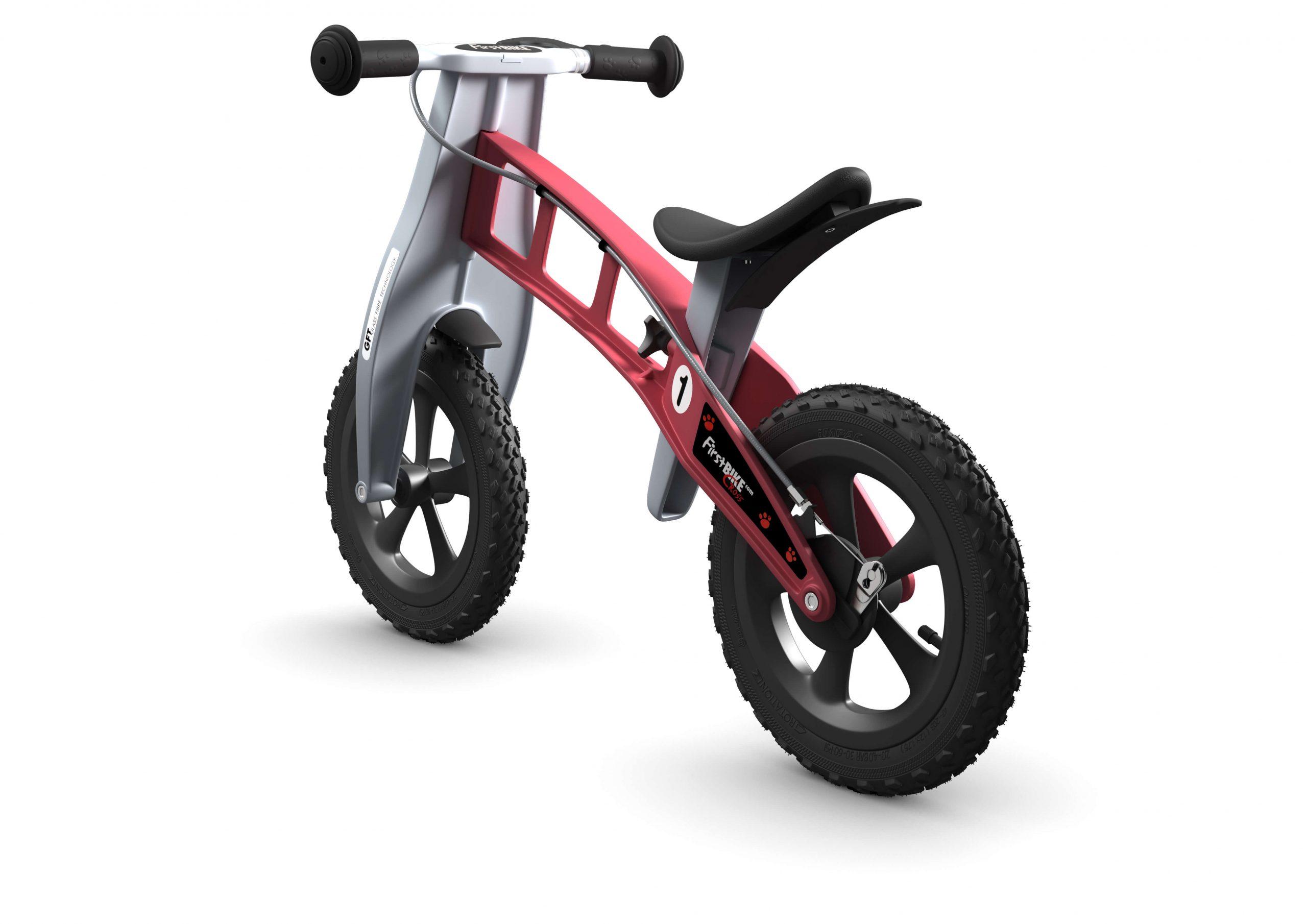 FirstBIKE Balance Bike Cross Red3