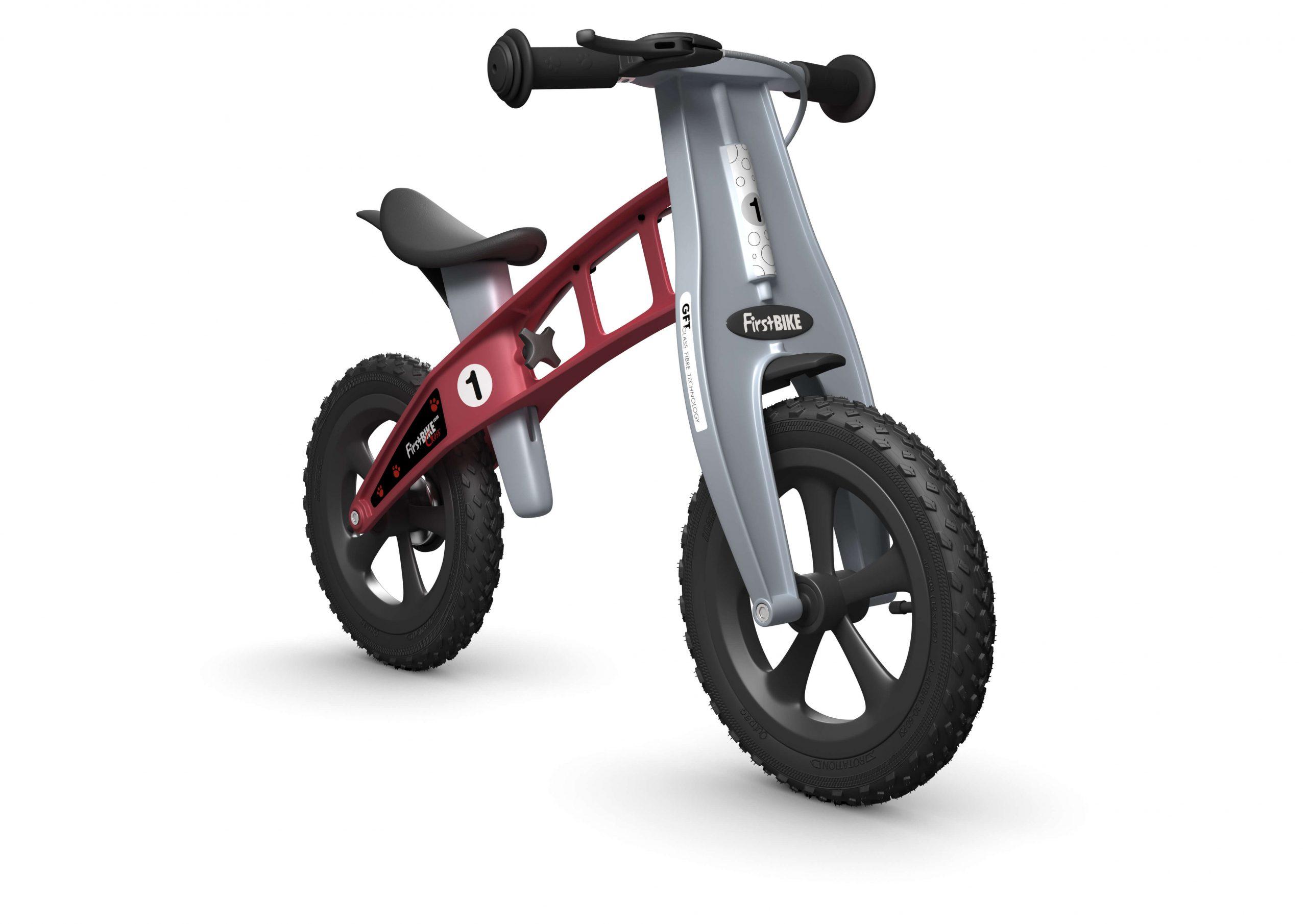 FirstBIKE Balance Bike Cross Red2