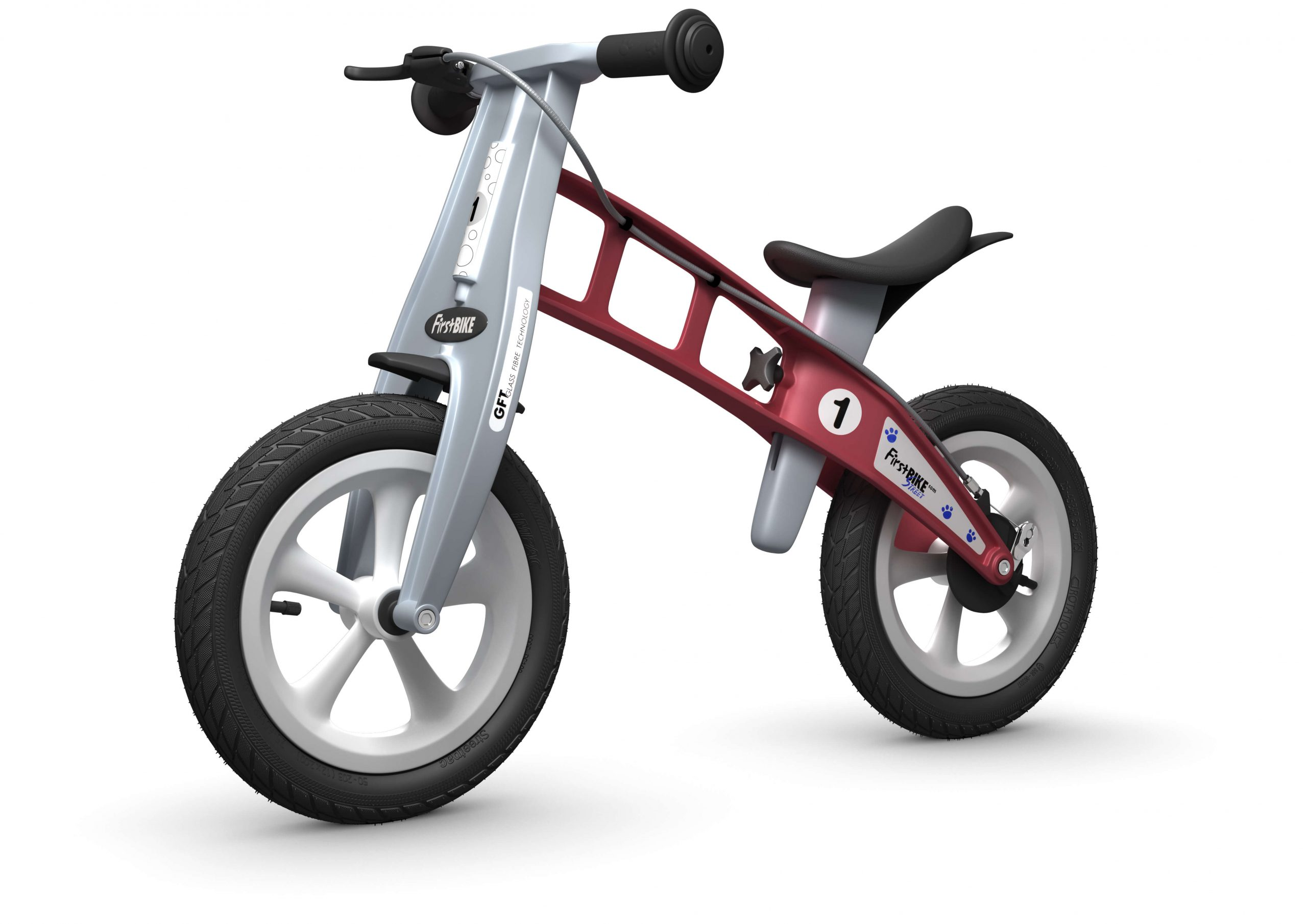 FirstBIKE Balance Bike Street Red5