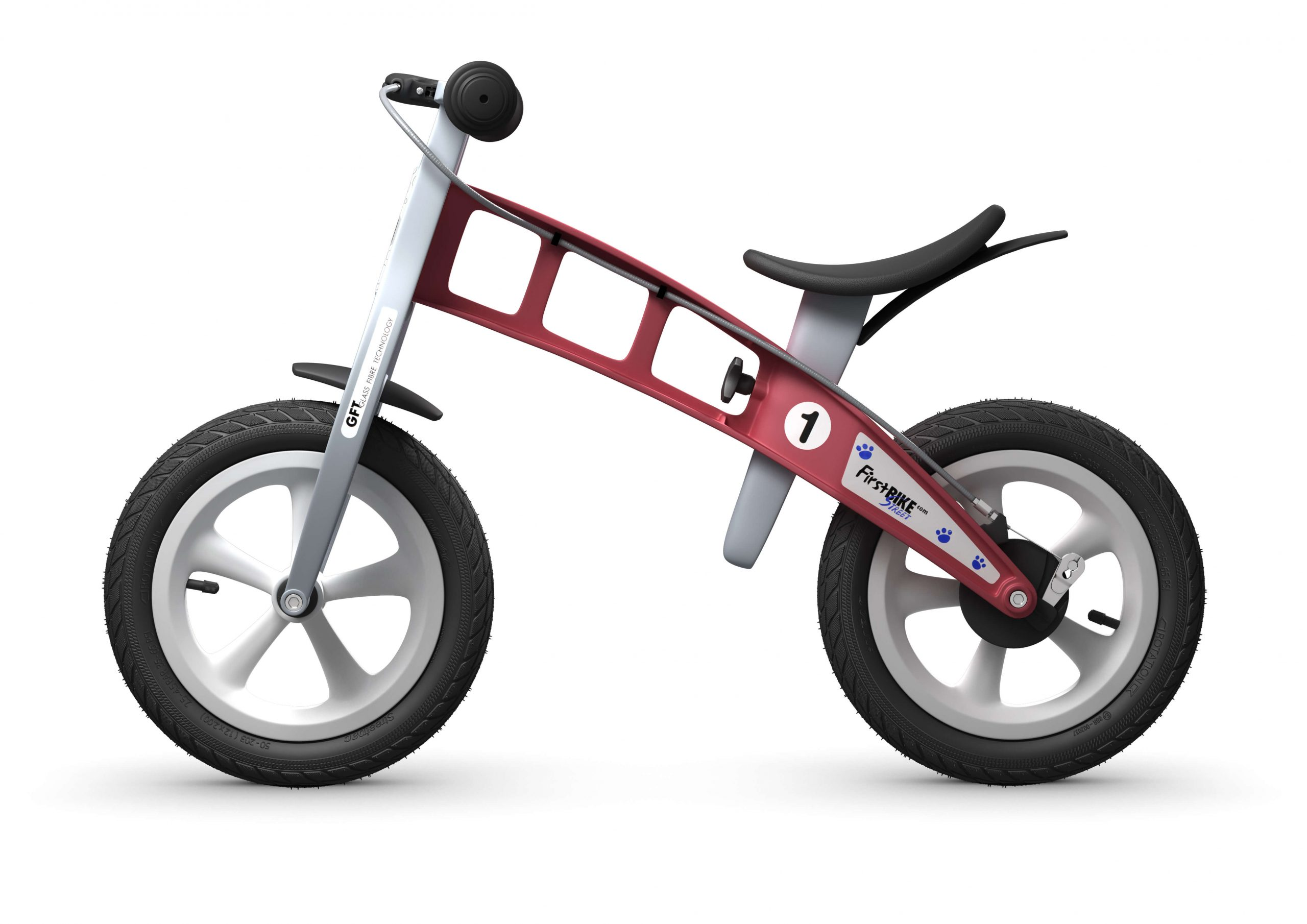 FirstBIKE Balance Bike Street Red4