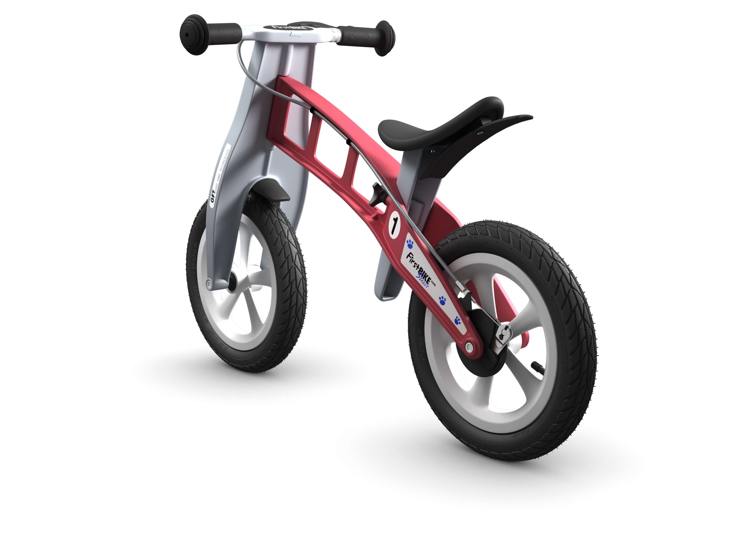 FirstBIKE Balance Bike Street Red3
