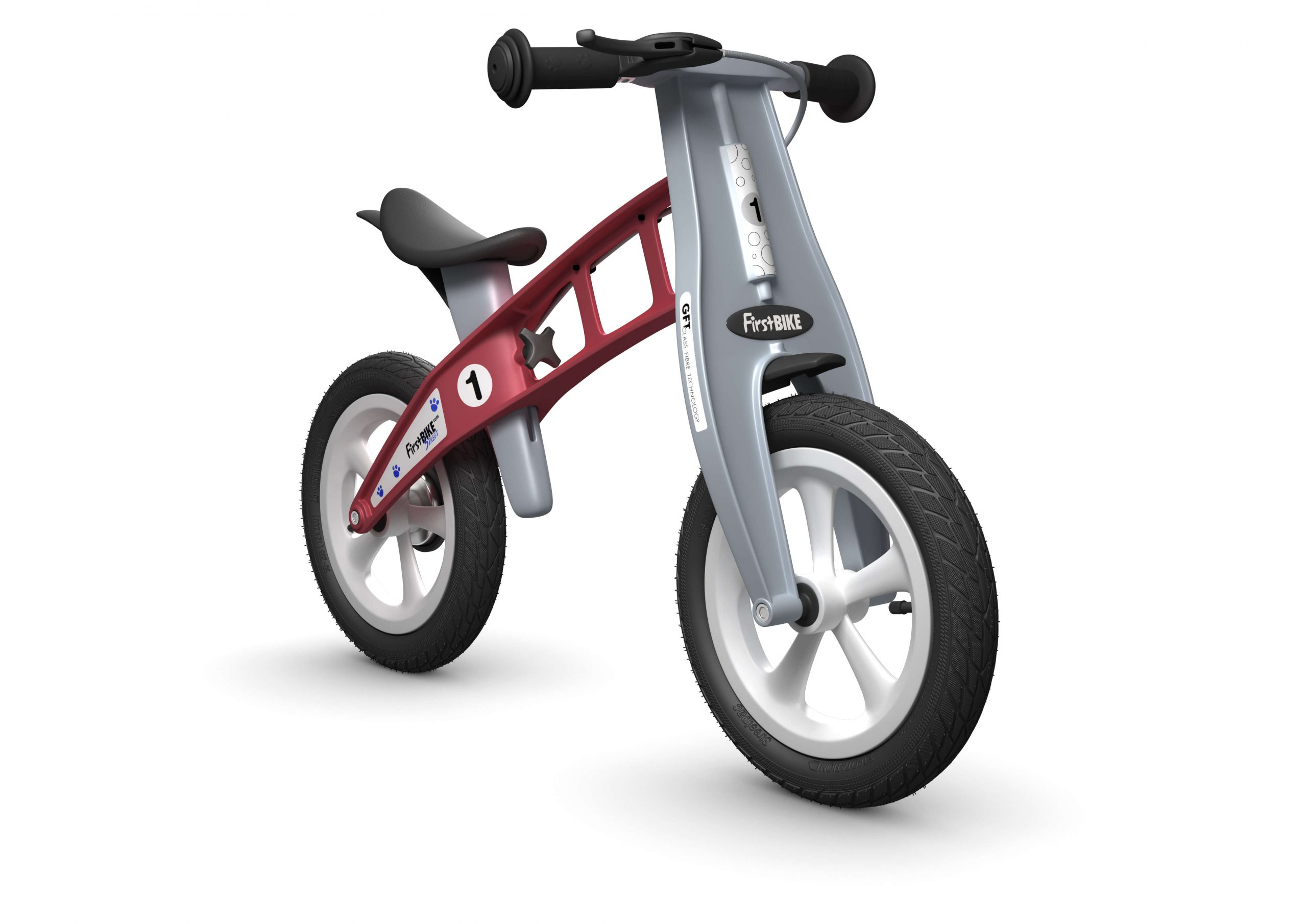 FirstBIKE Balance Bike Street Red2
