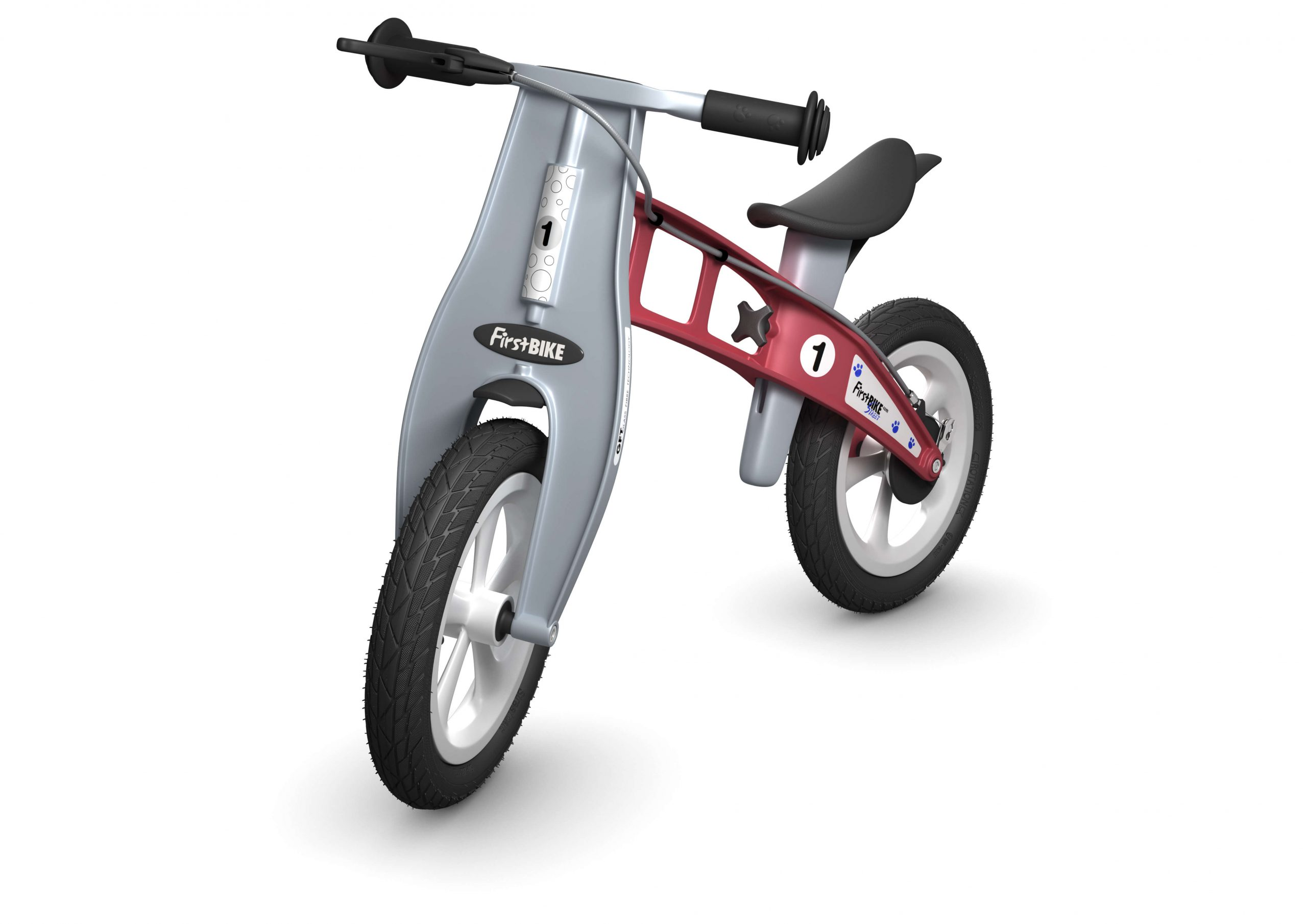 FirstBIKE Balance Bike Street Red1