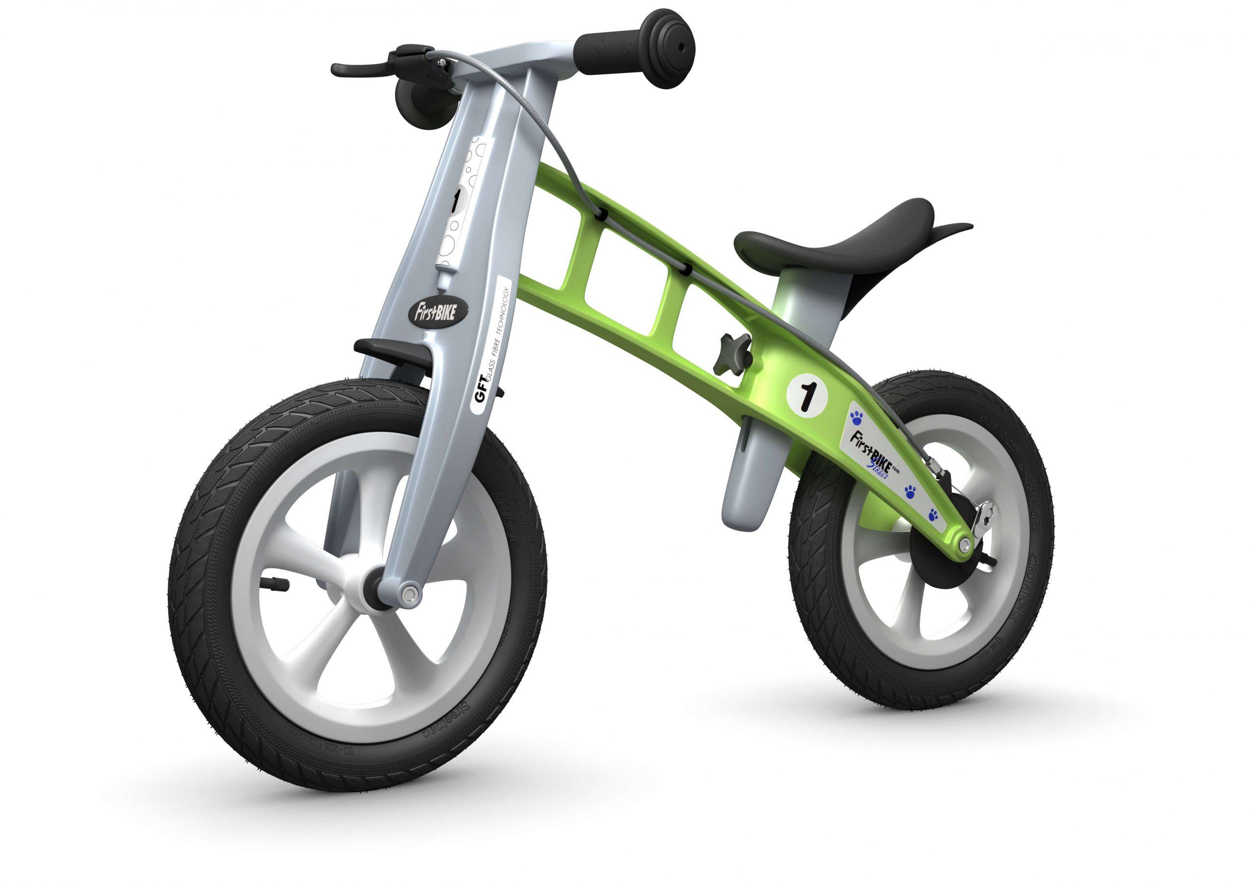 FirstBIKE Balance Bike Street Green5