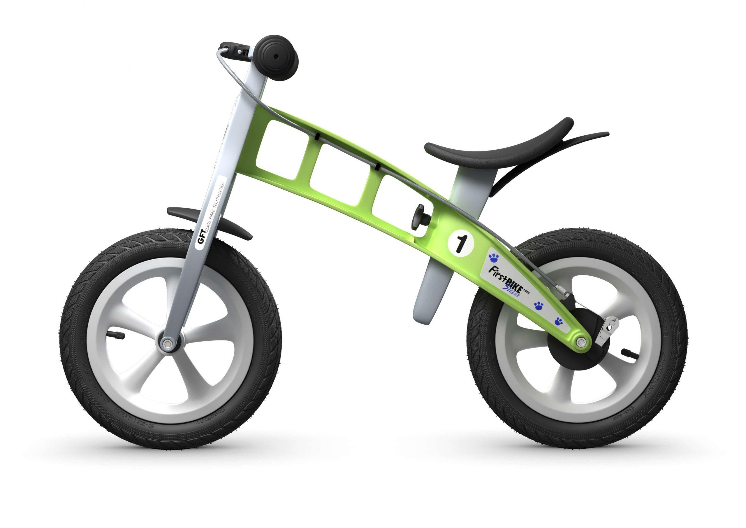 FirstBIKE Balance Bike Street Green4