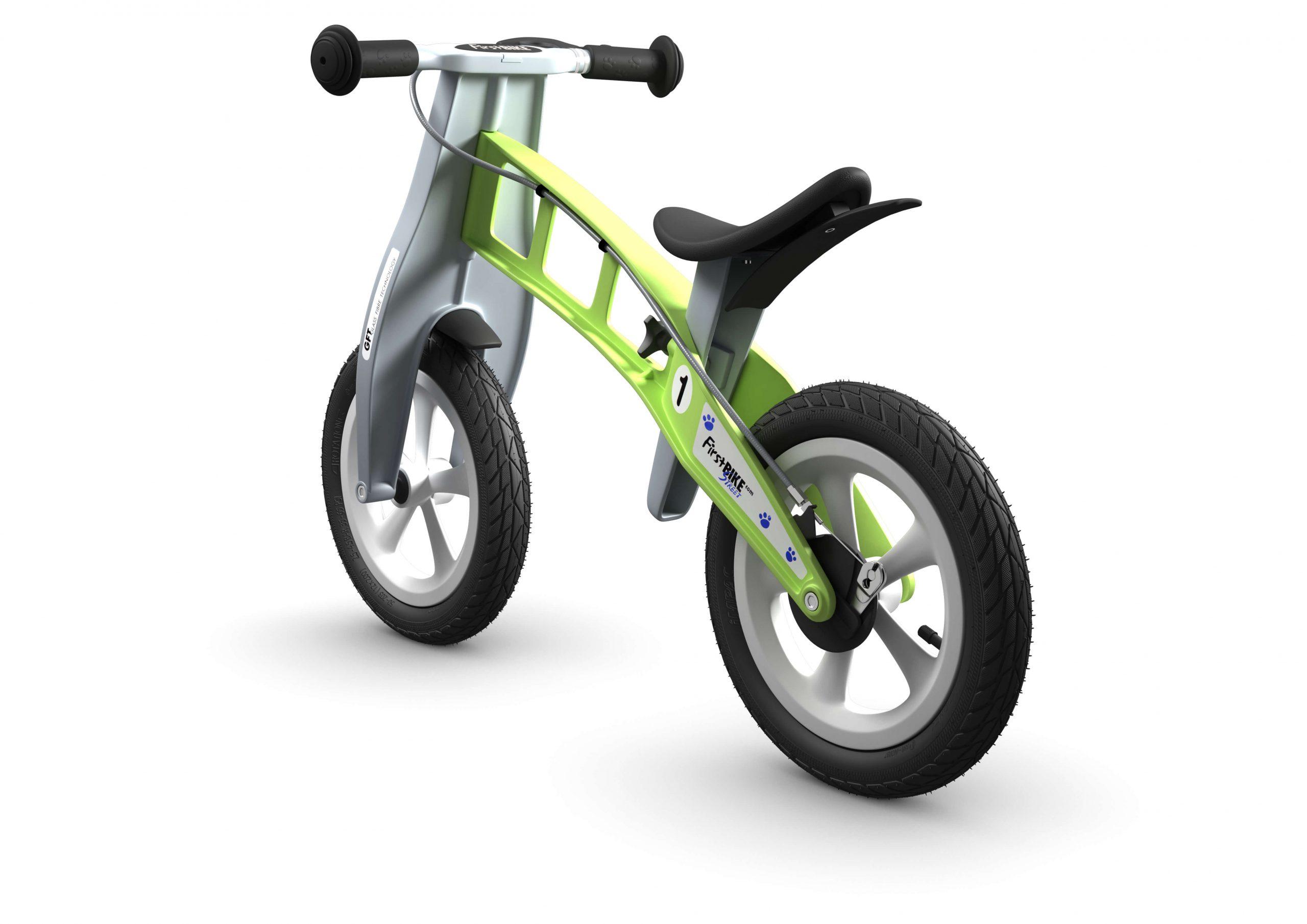 FirstBIKE Balance Bike Street Green3