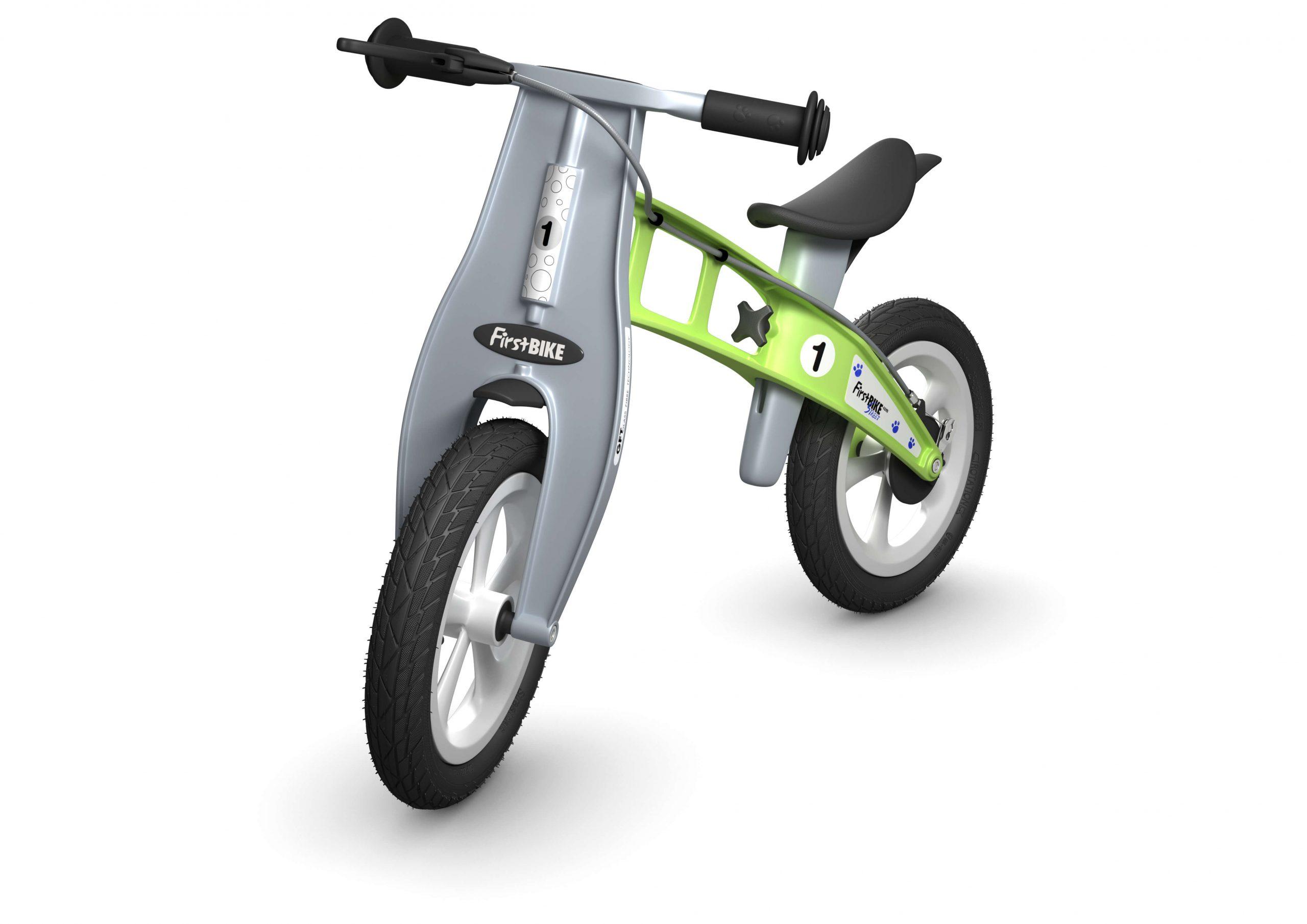 FirstBIKE Balance Bike Street Green1