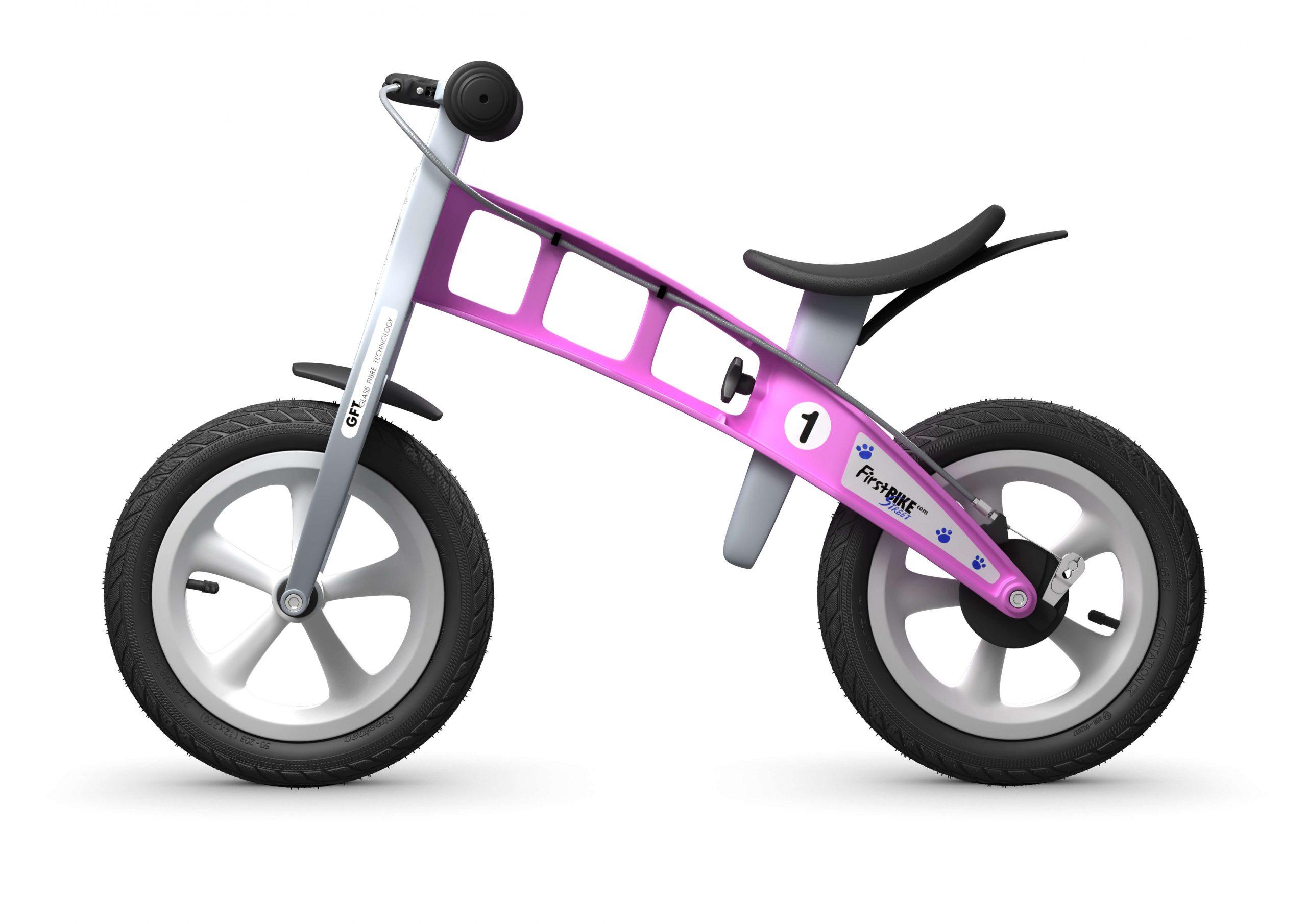 FirstBIKE Balance Bike Street Pink4