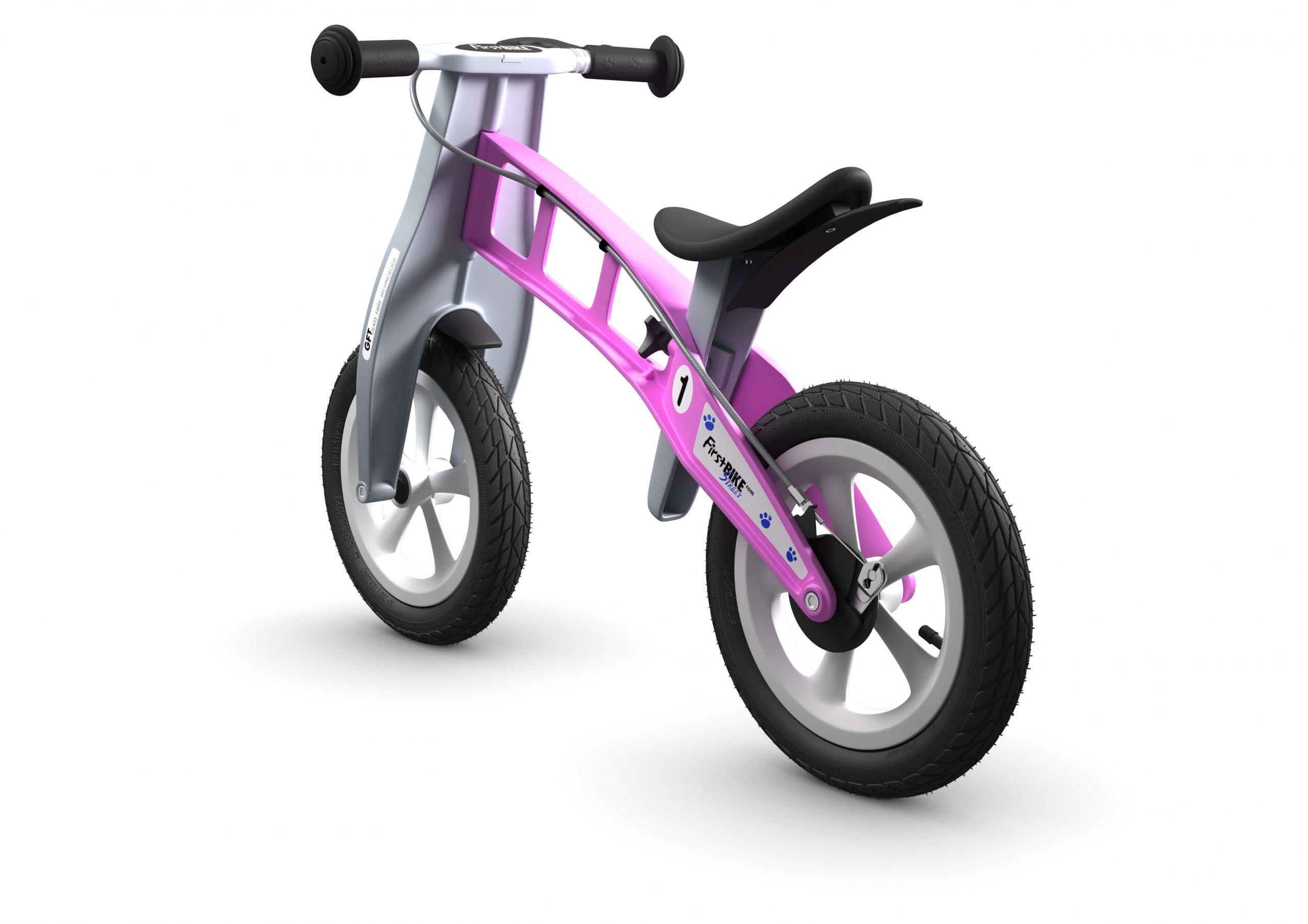 FirstBIKE Balance Bike Street Pink3