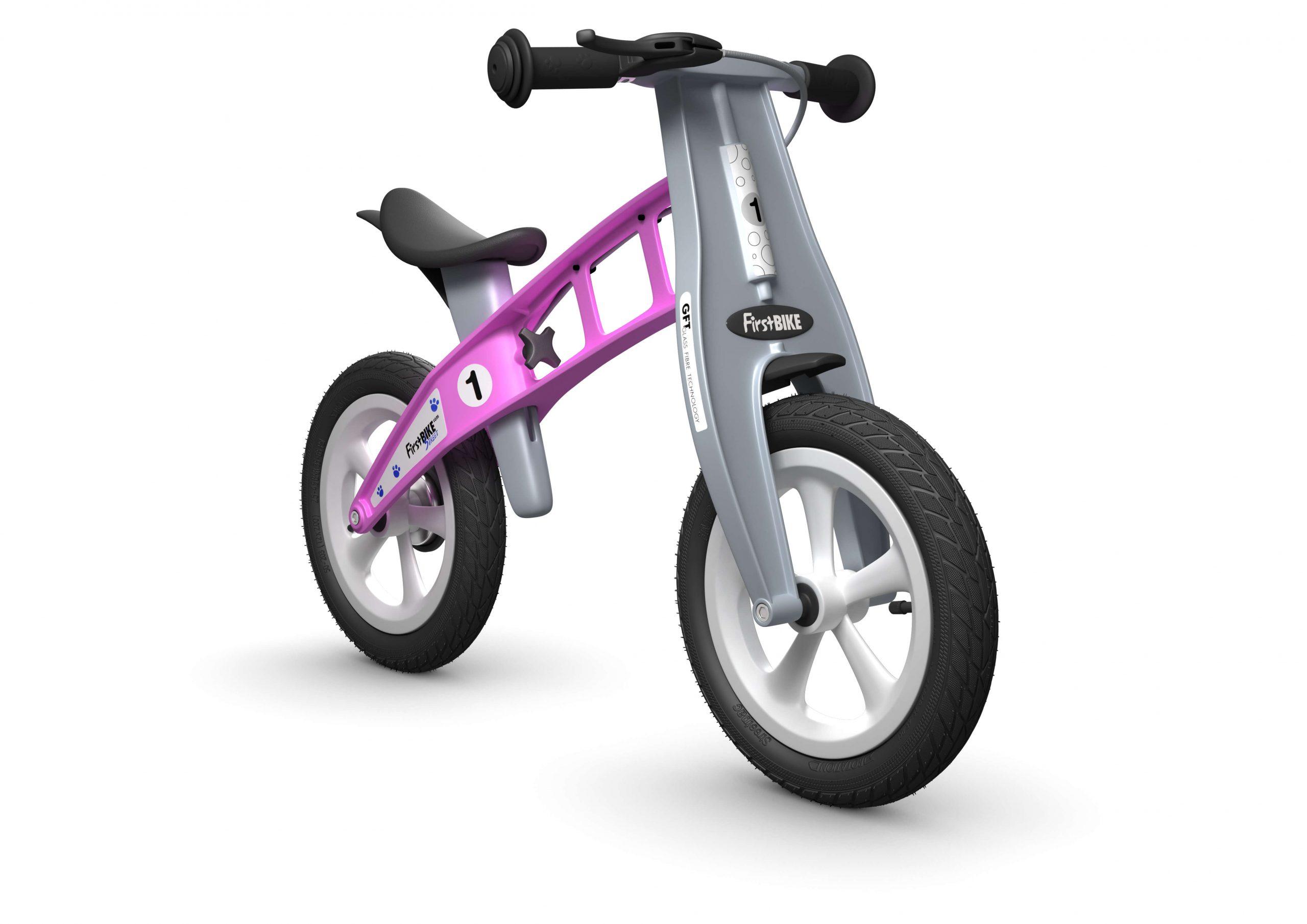 FirstBIKE Balance Bike Street Pink2