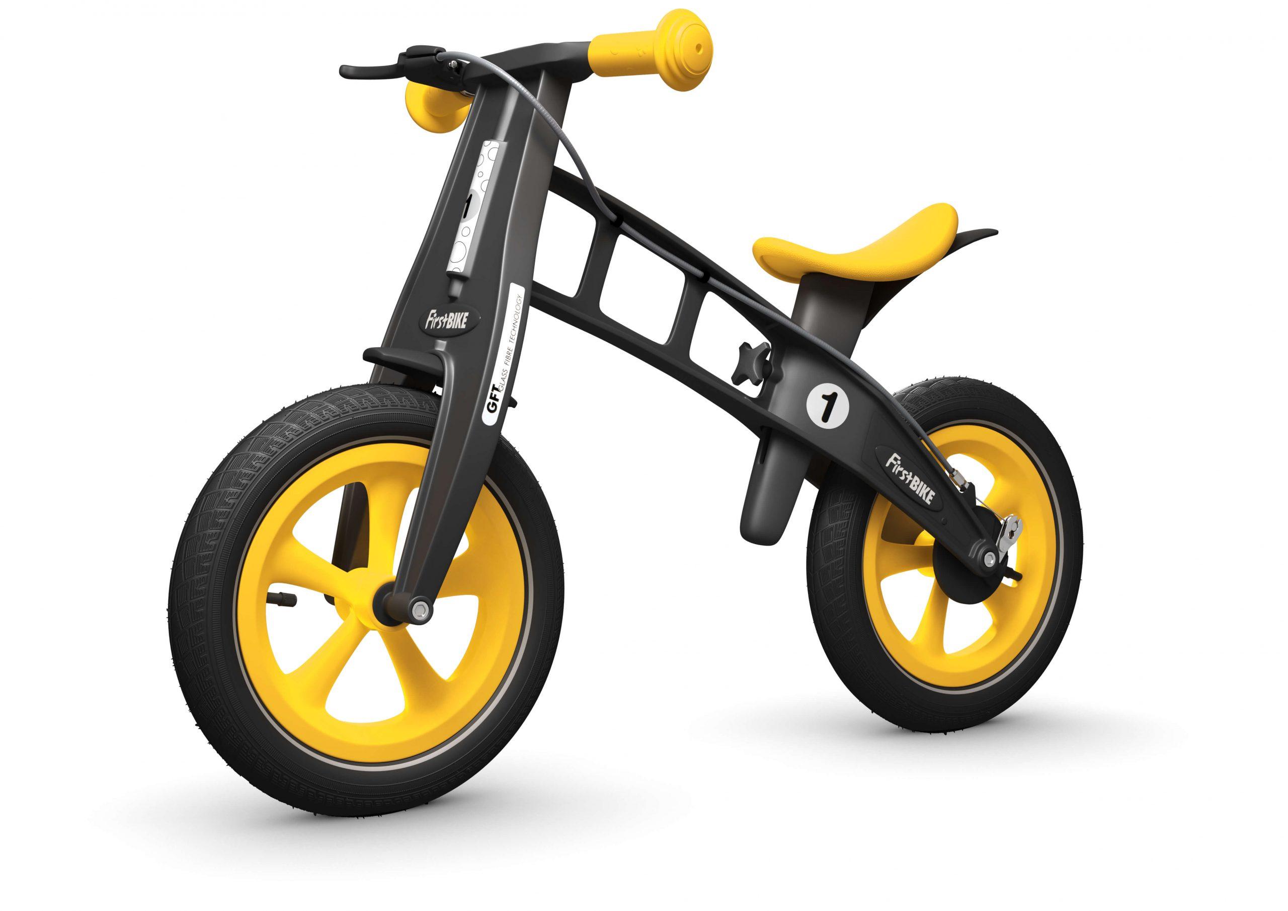 FirstBIKE Balance Bike Limited Edition Yellow8