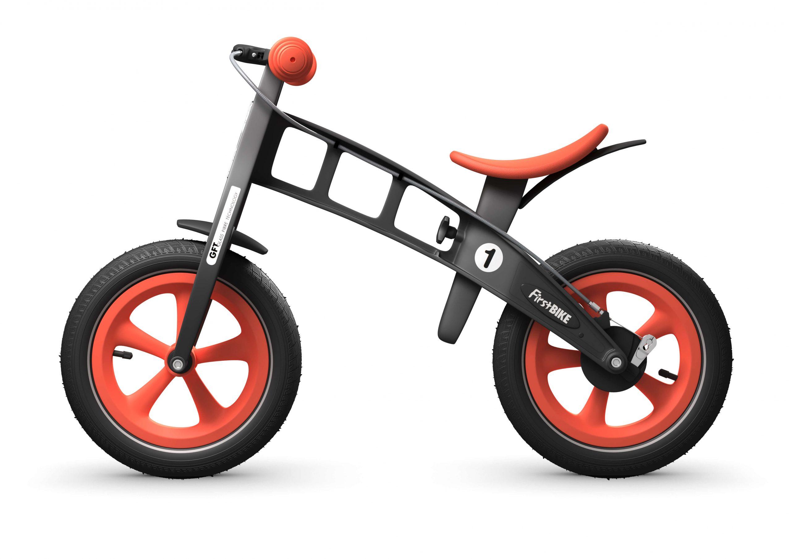 FirstBIKE Balance Bike Limited Edition Orange4
