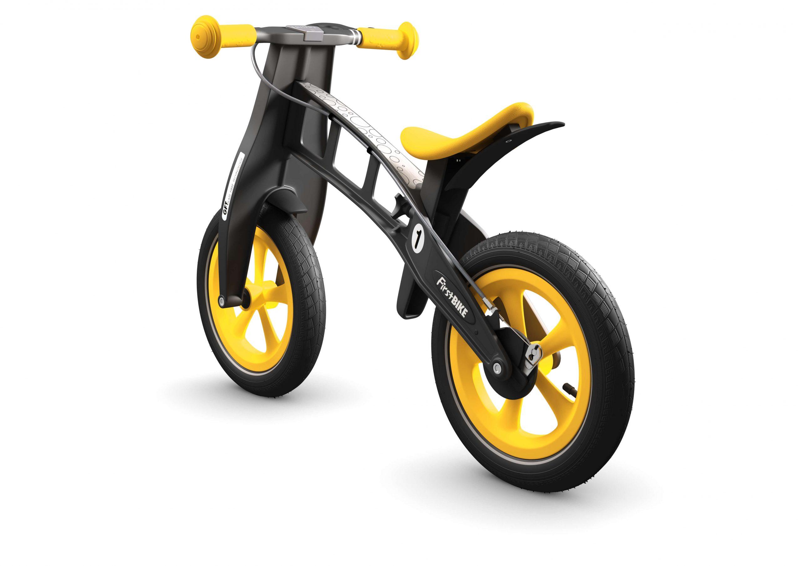 FirstBIKE Balance Bike Limited Edition Yellow6
