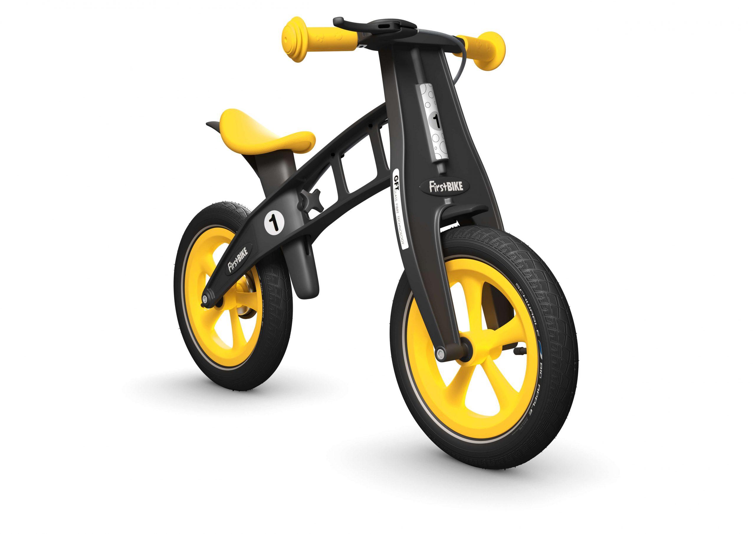 FirstBIKE Balance Bike Limited Edition Yellow5