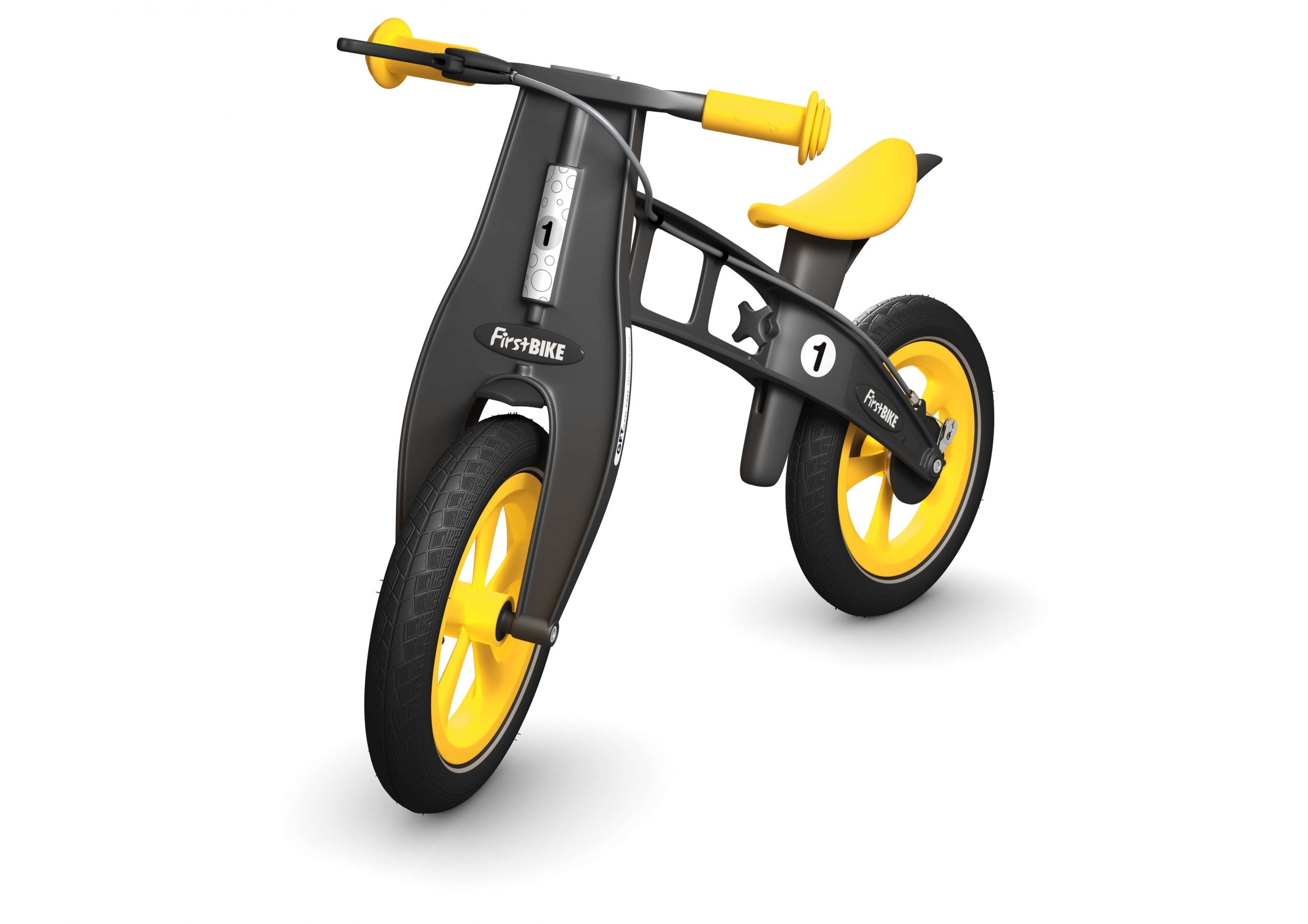 FirstBIKE Balance Bike Limited Edition Yellow1