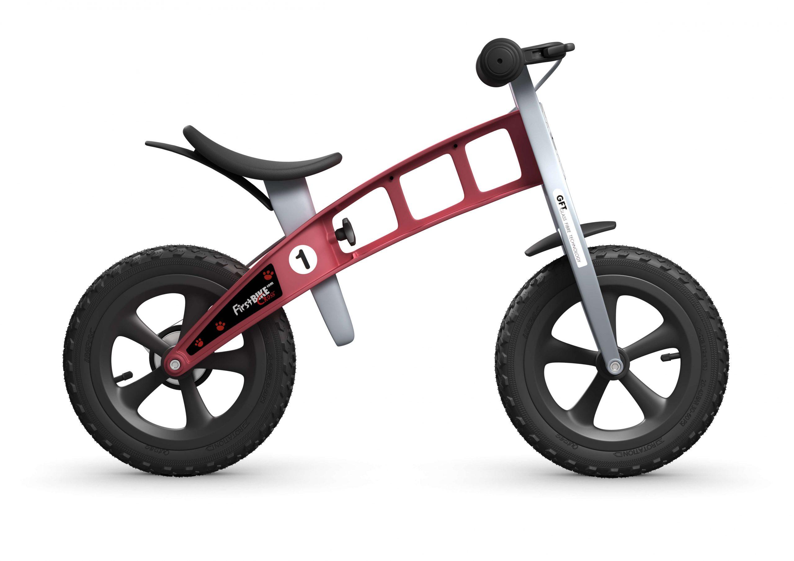 FirstBIKE Balance Bike Cross Red