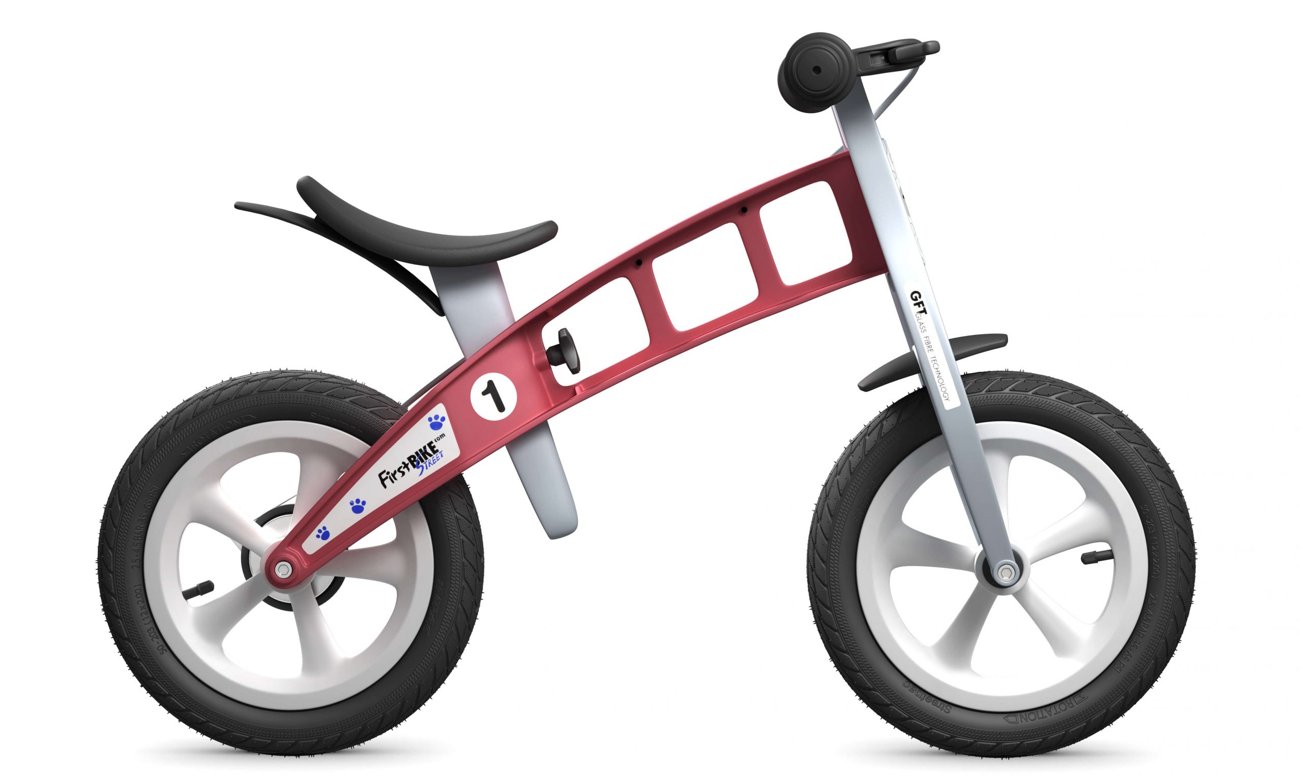 FirstBIKE Balance Bike Street Red