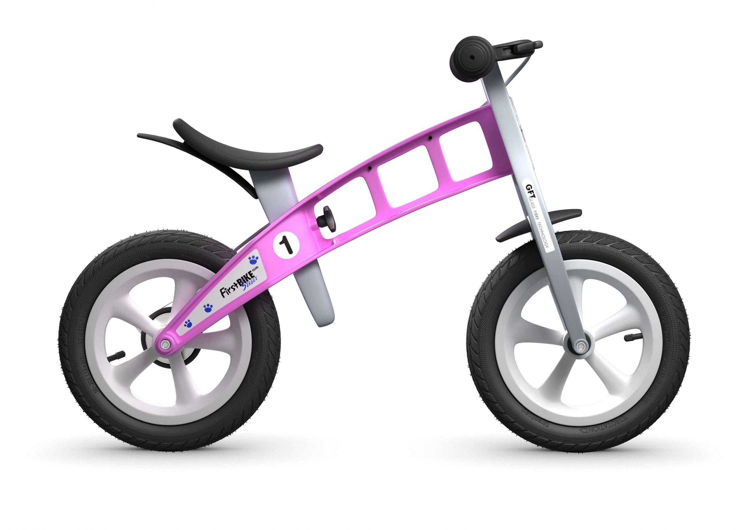 FirstBIKE Balance Bike Street Pink