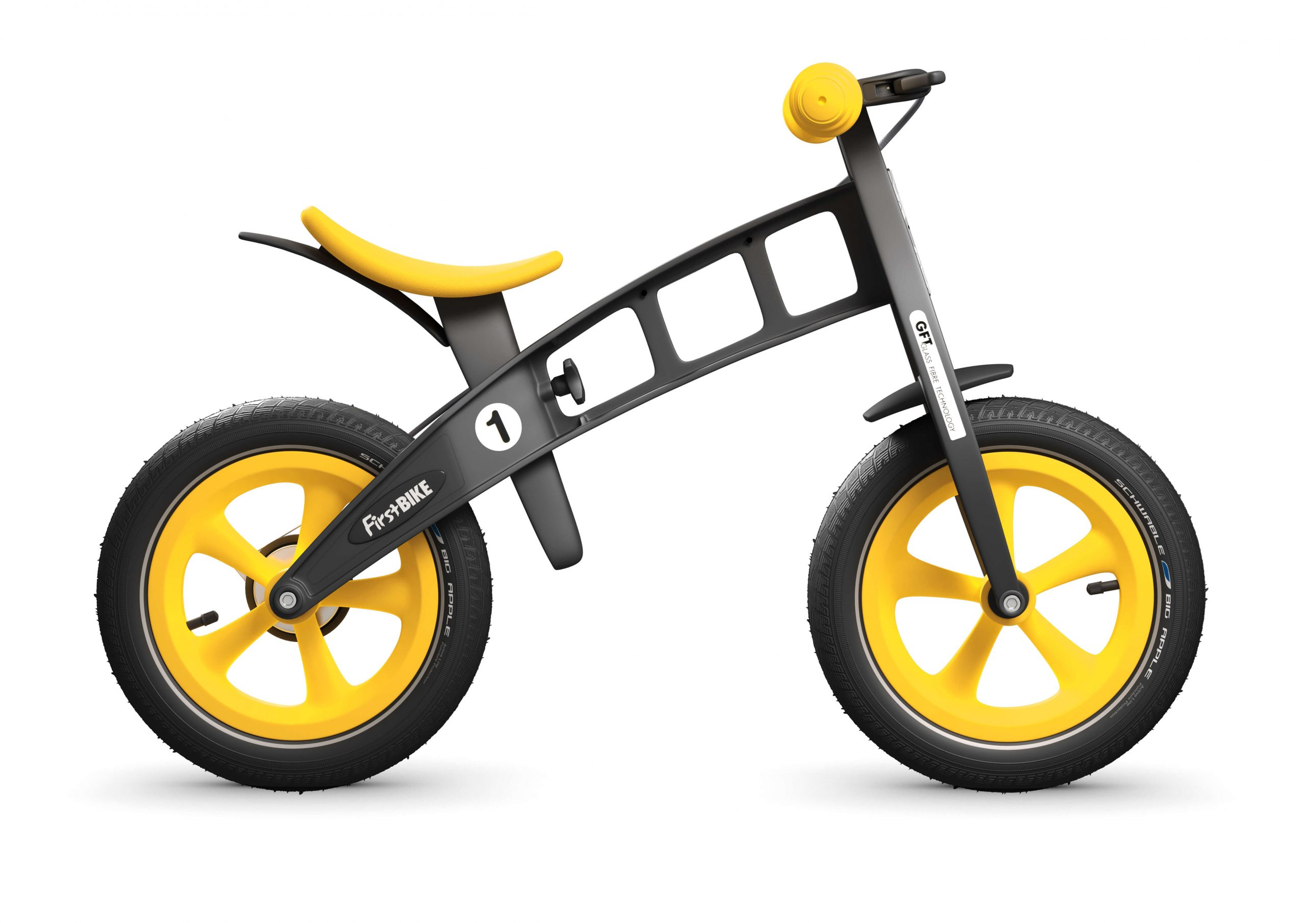 FirstBIKE Balance Bike Limited Edition Yellow
