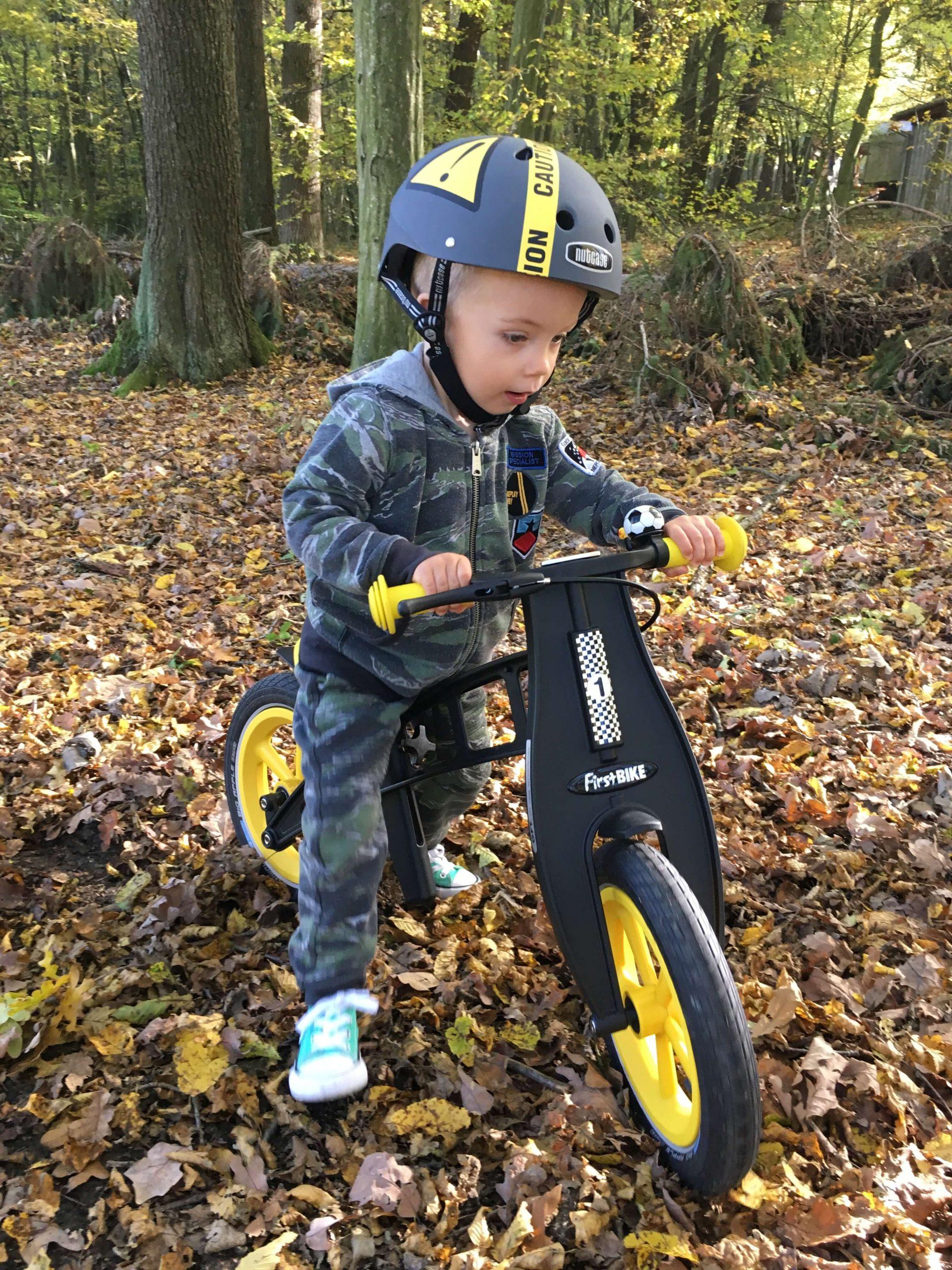 FirstBIKE Balance Bike Limited Edition Yellow2