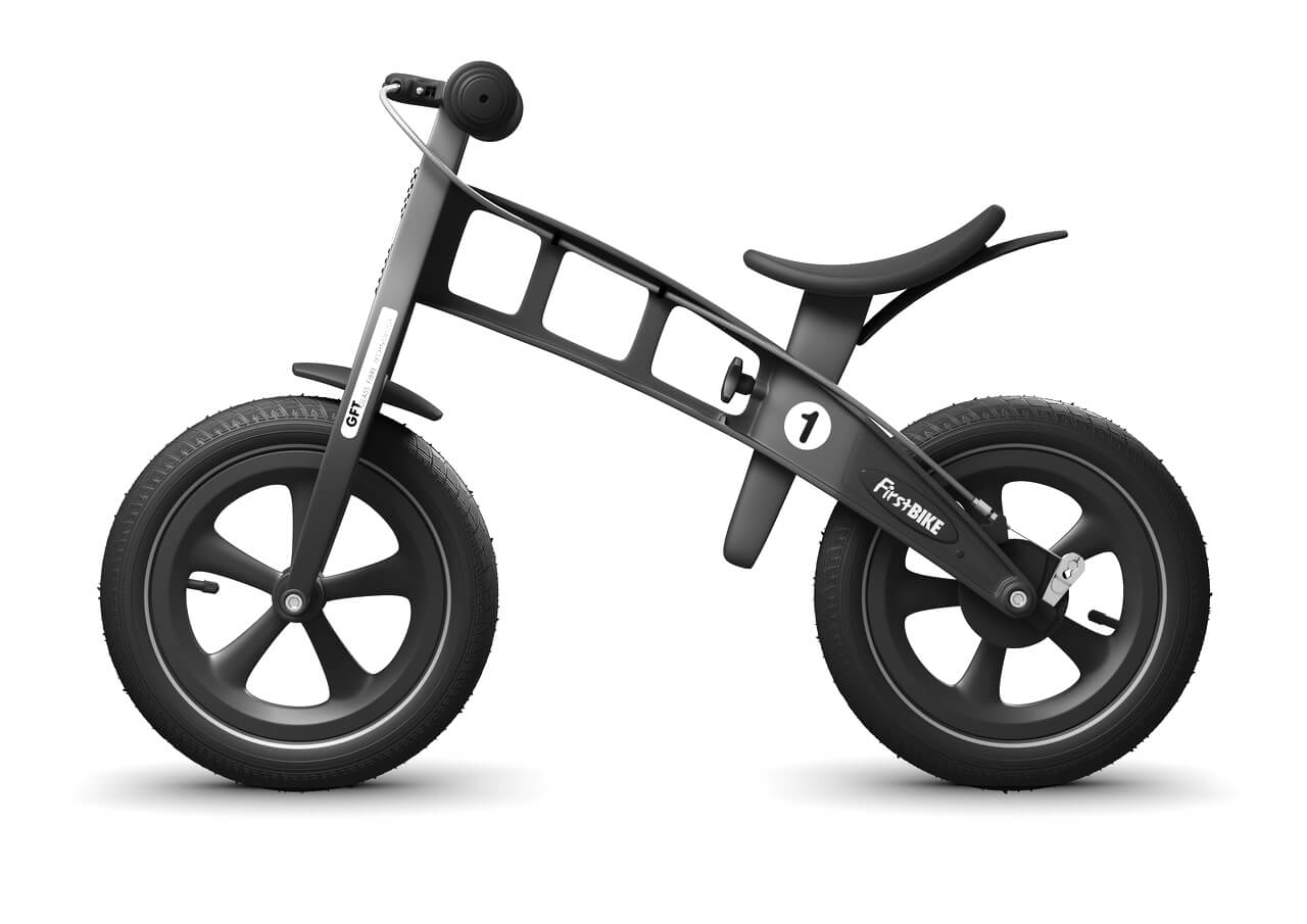 FirstBIKE Balance Bike Limited Edition Black