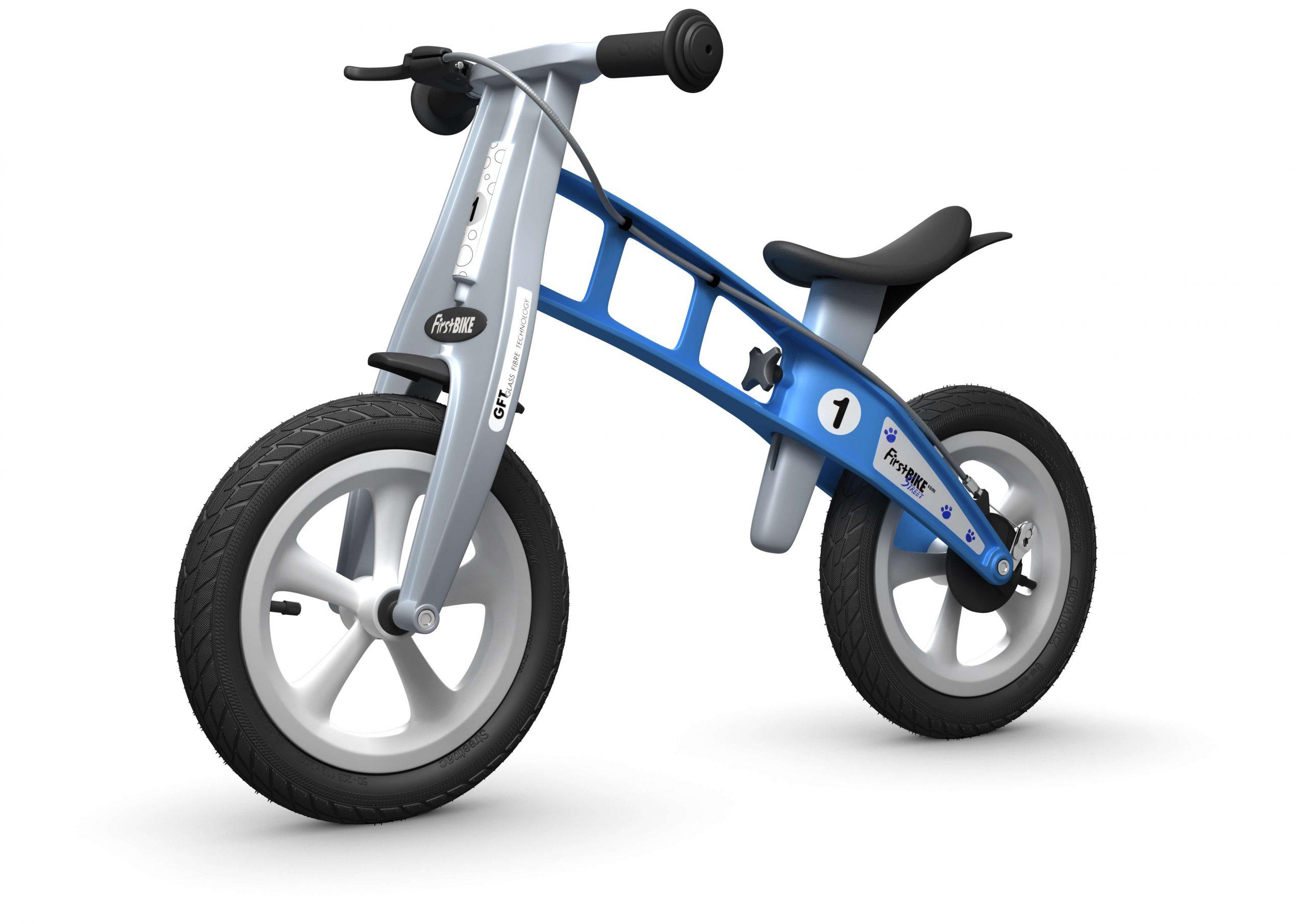 FirstBIKE Balance Bike Street Light Blue5