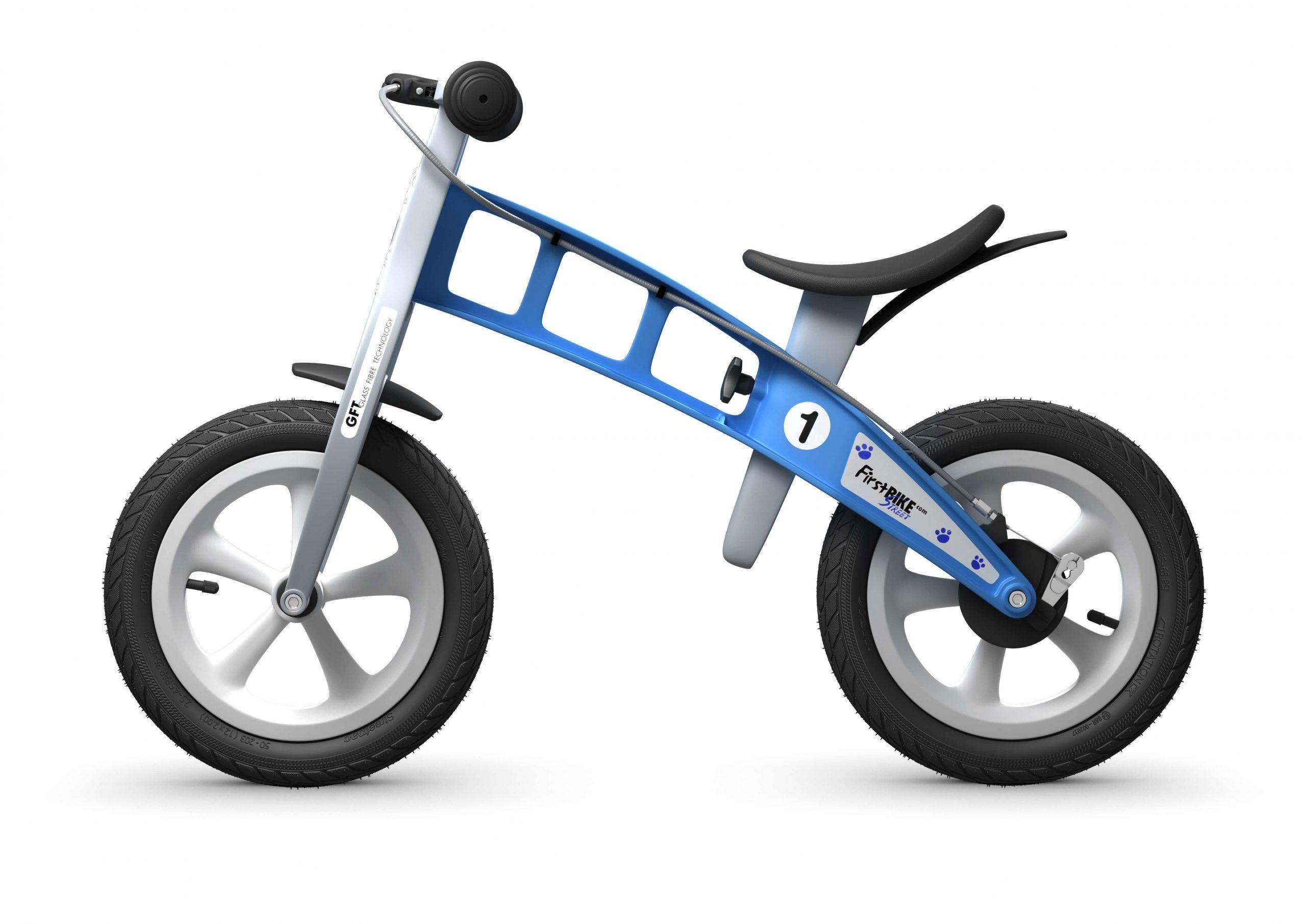 FirstBIKE Balance Bike Street Light Blue4
