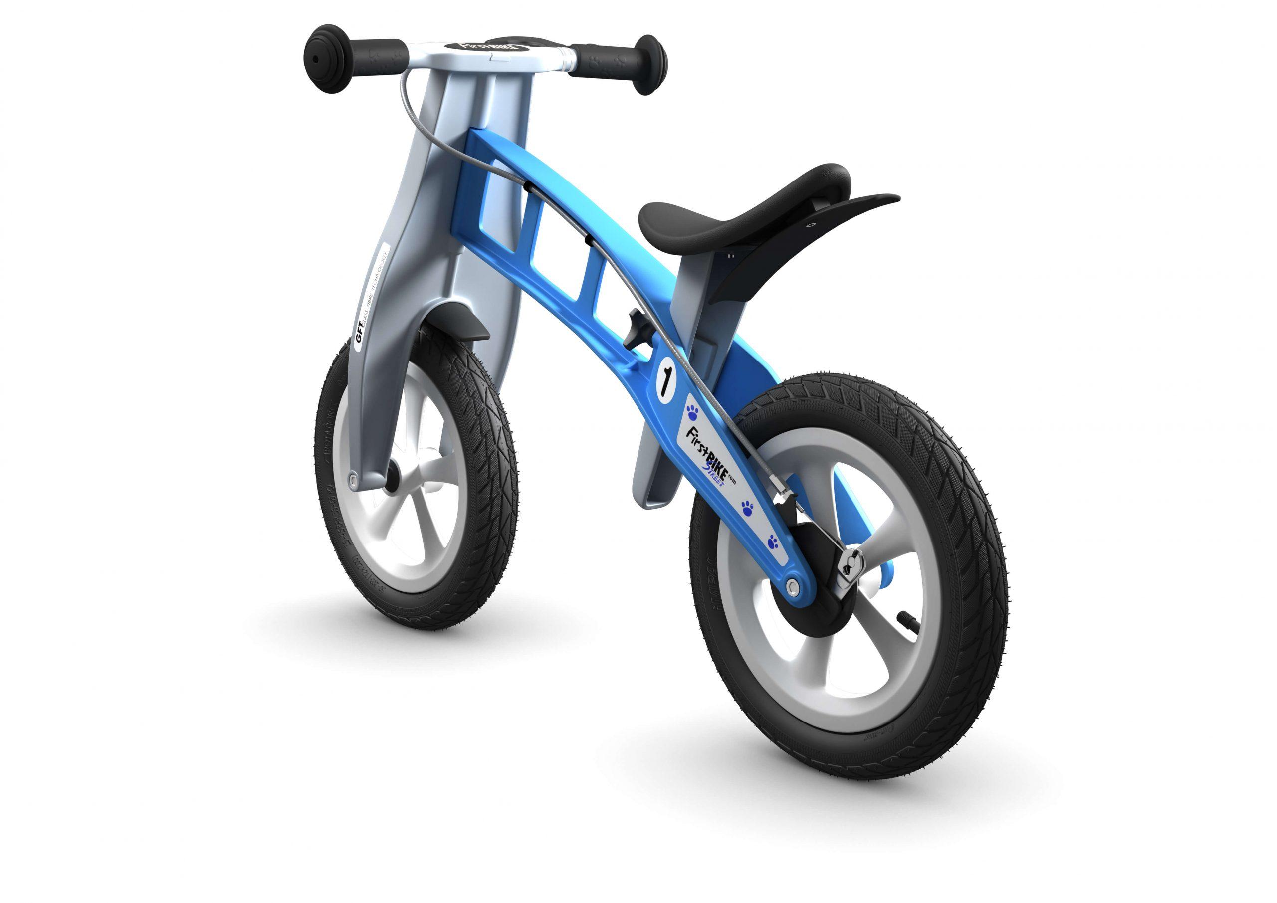 FirstBIKE Balance Bike Street Light Blue3