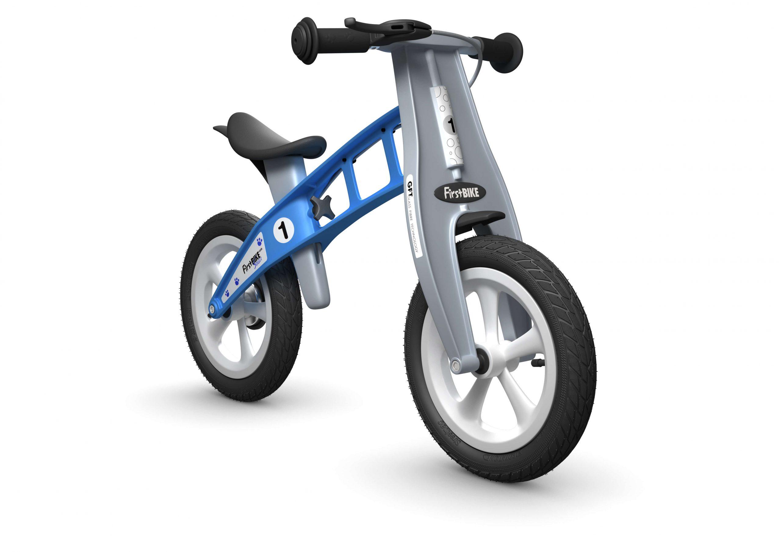 FirstBIKE Balance Bike Street Light Blue2