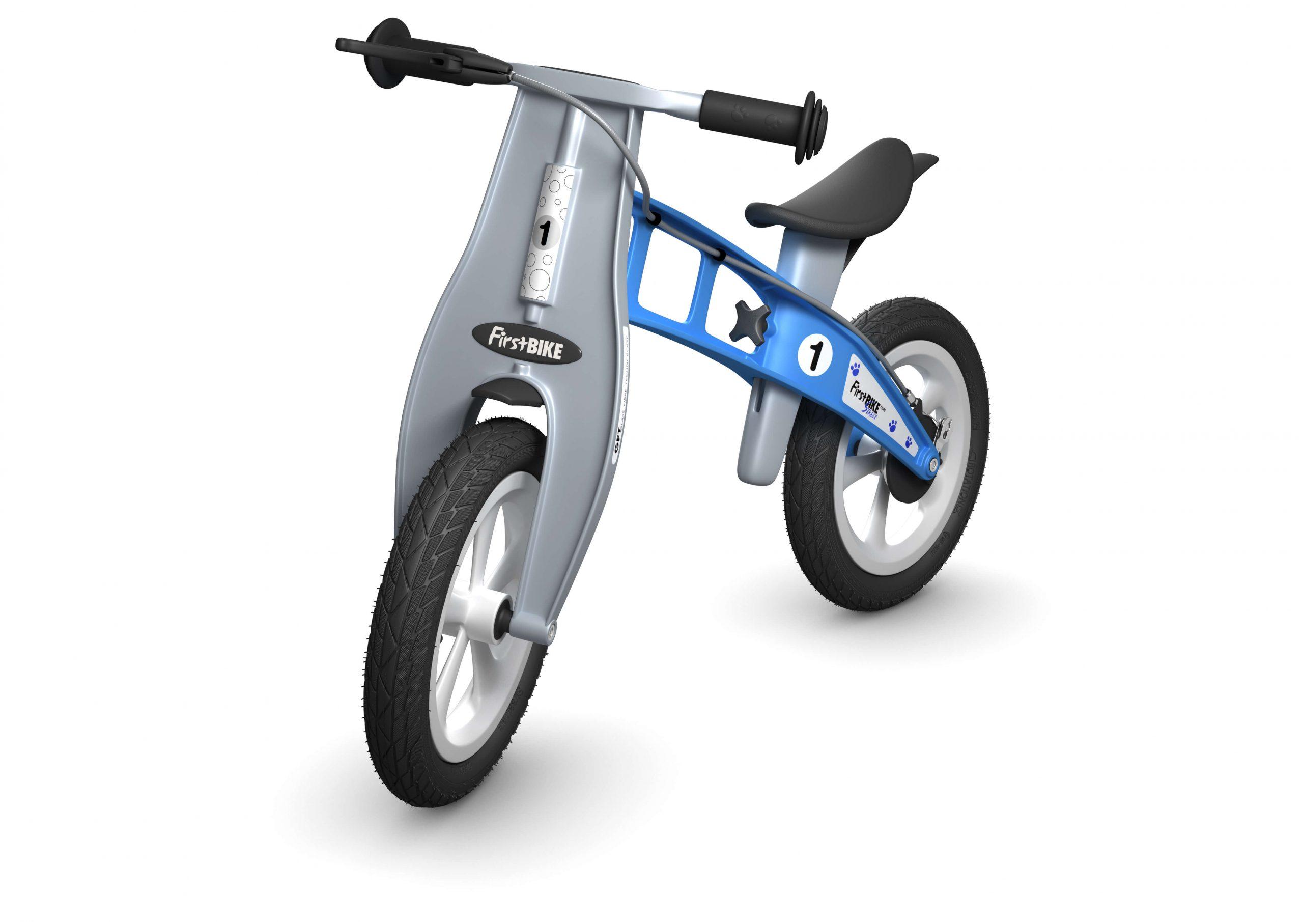 FirstBIKE Balance Bike Street Light Blue1