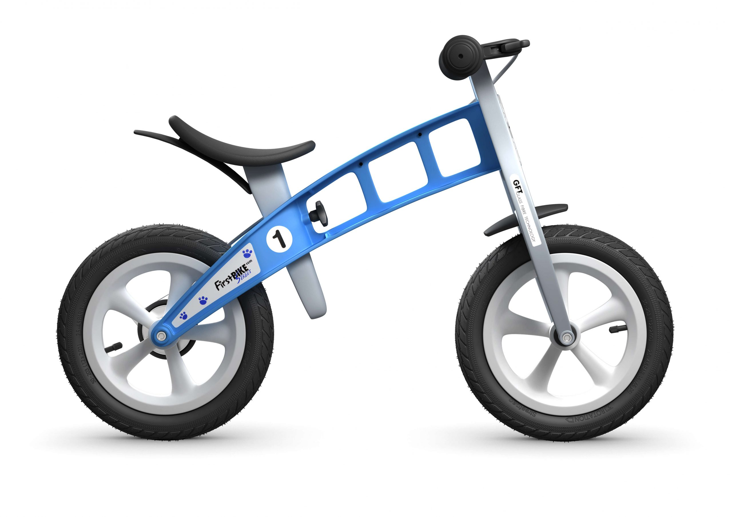 FirstBIKE Balance Bike Street Light Blue