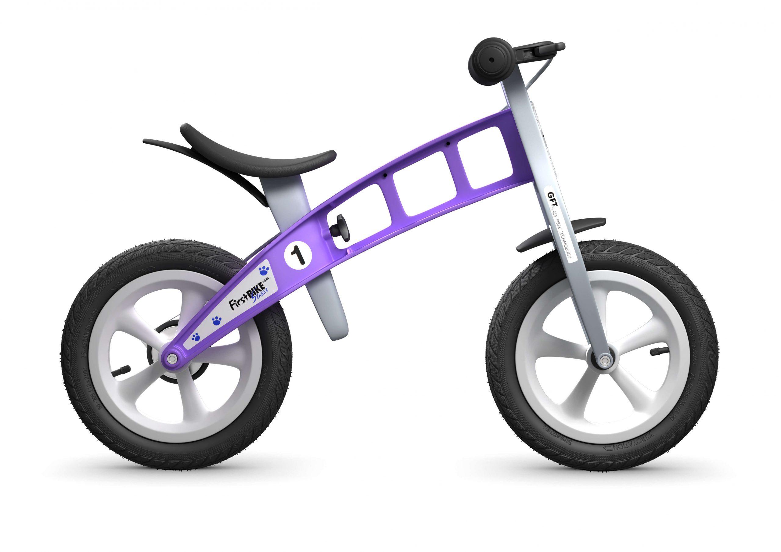 FirstBIKE Balance Bike Street Violet5
