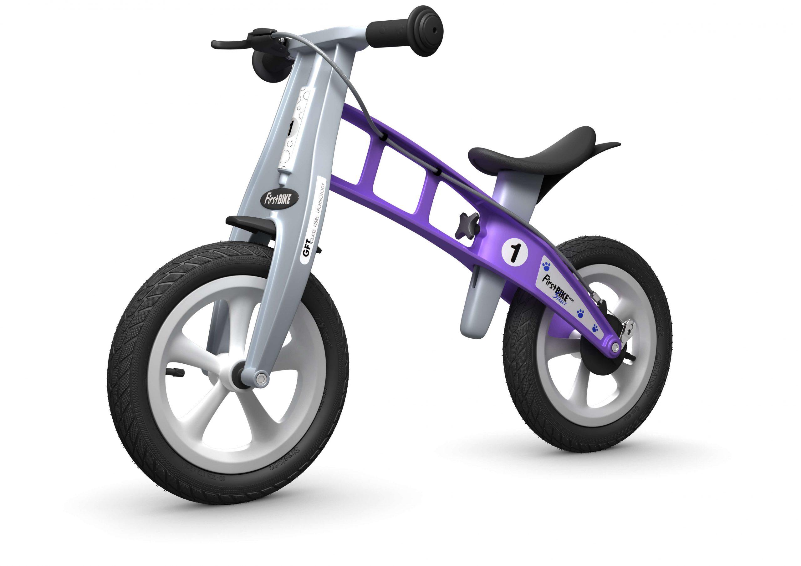 FirstBIKE Balance Bike Street Violet4