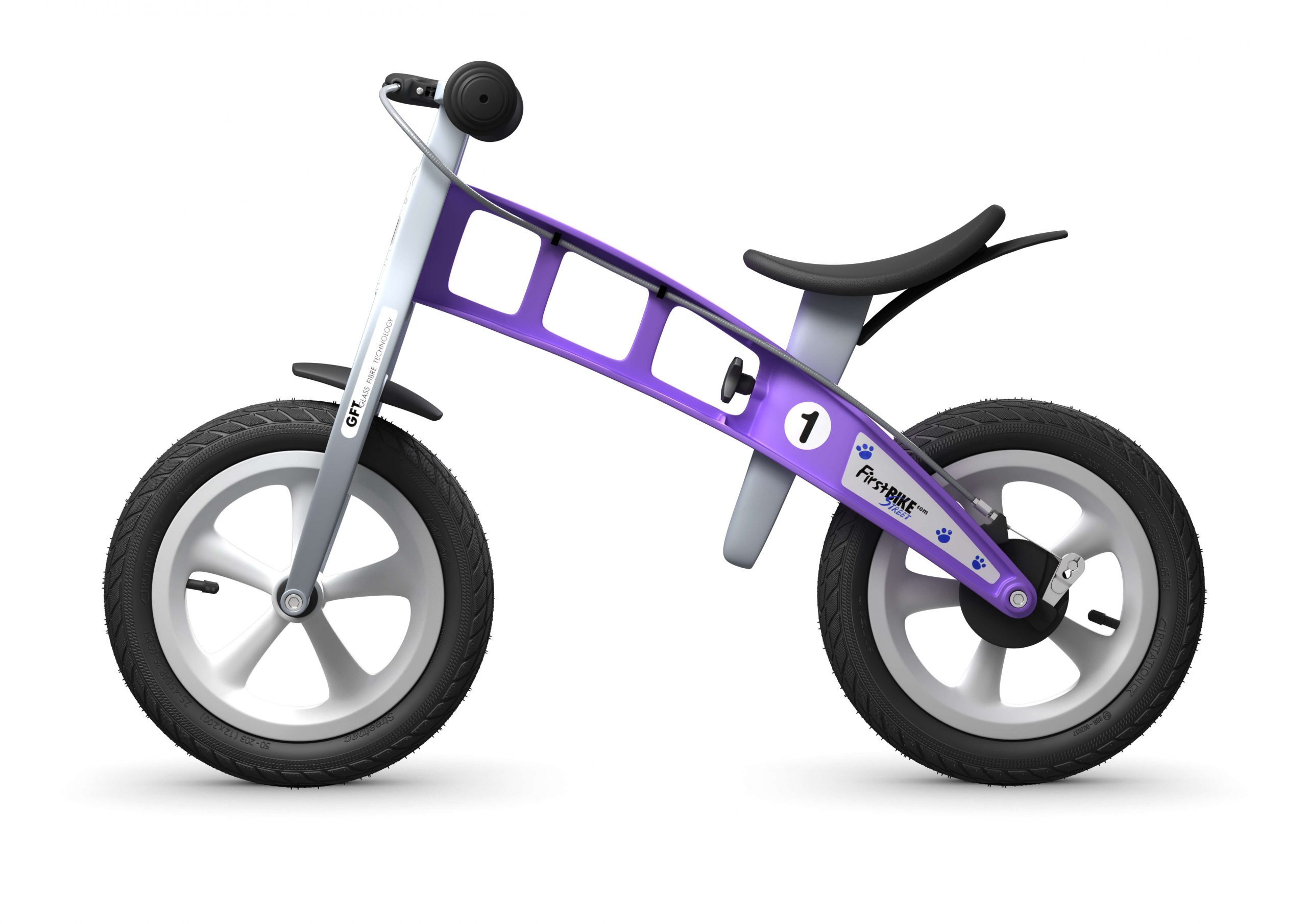 FirstBIKE Balance Bike Street Violet3