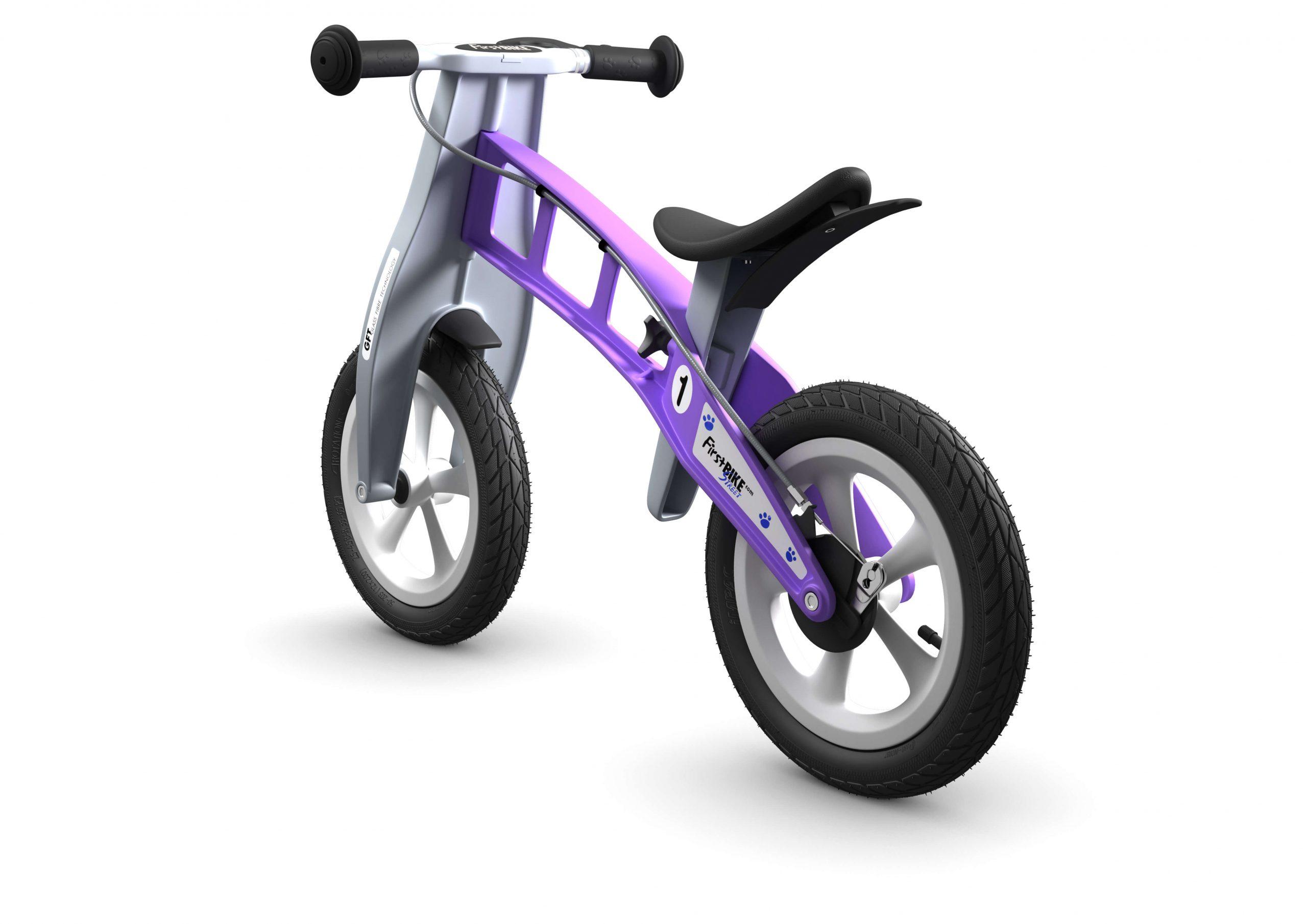 FirstBIKE Balance Bike Street Violet2