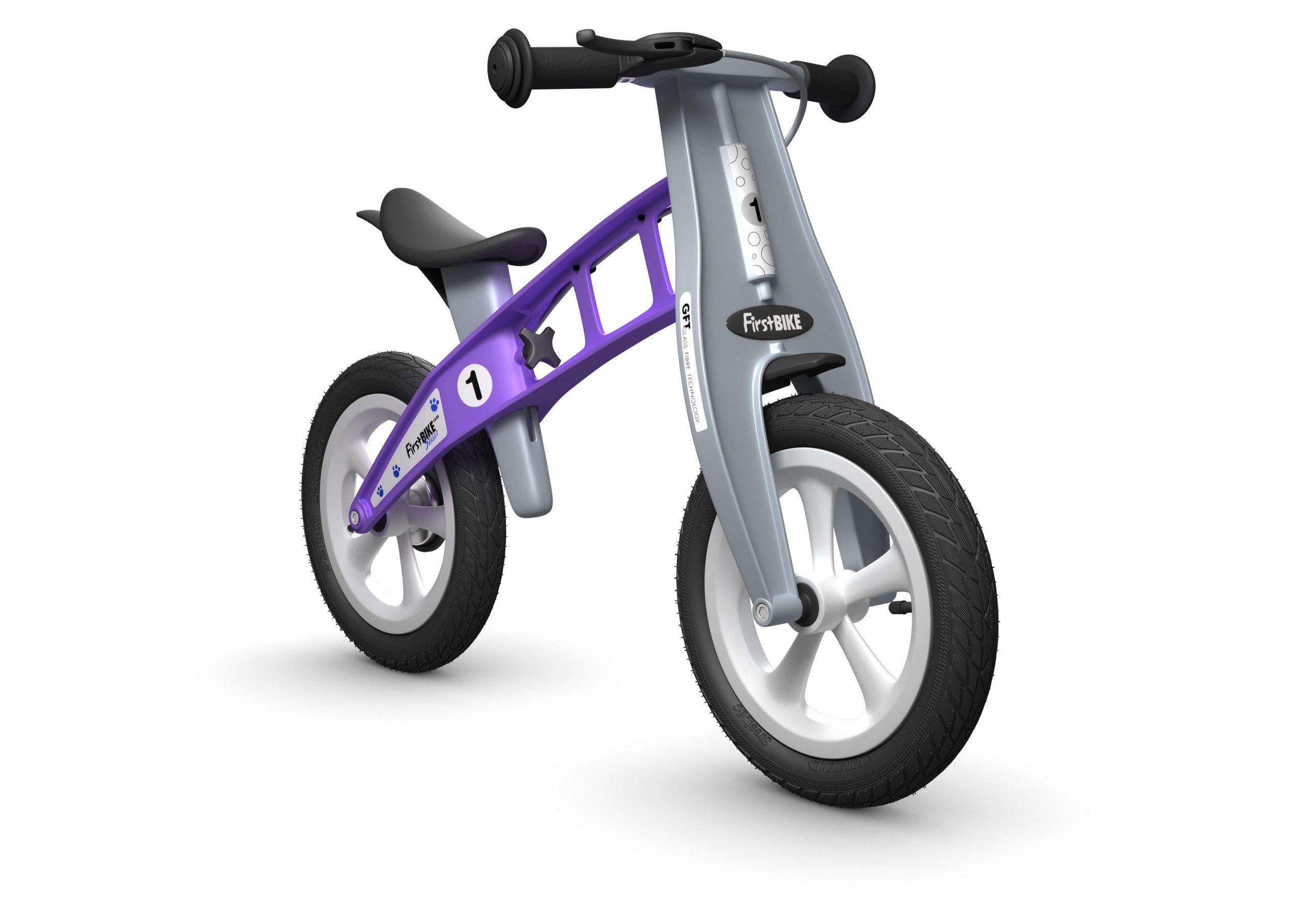 FirstBIKE Balance Bike Street Violet1