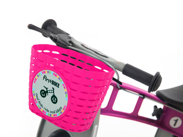 FirstBIKE Basket Pink1
