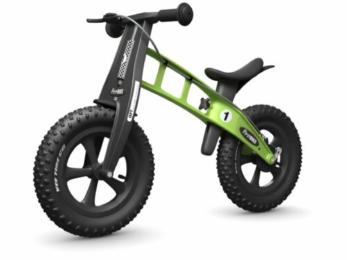 FirstBIKE Balance Bike Fat Green5