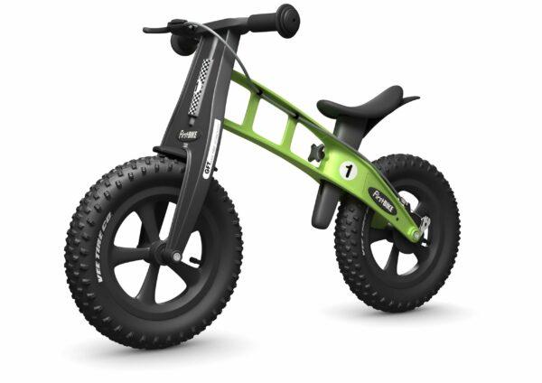 FirstBIKE Balance Bike Fat Green5