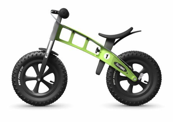 FirstBIKE Balance Bike Fat Green4